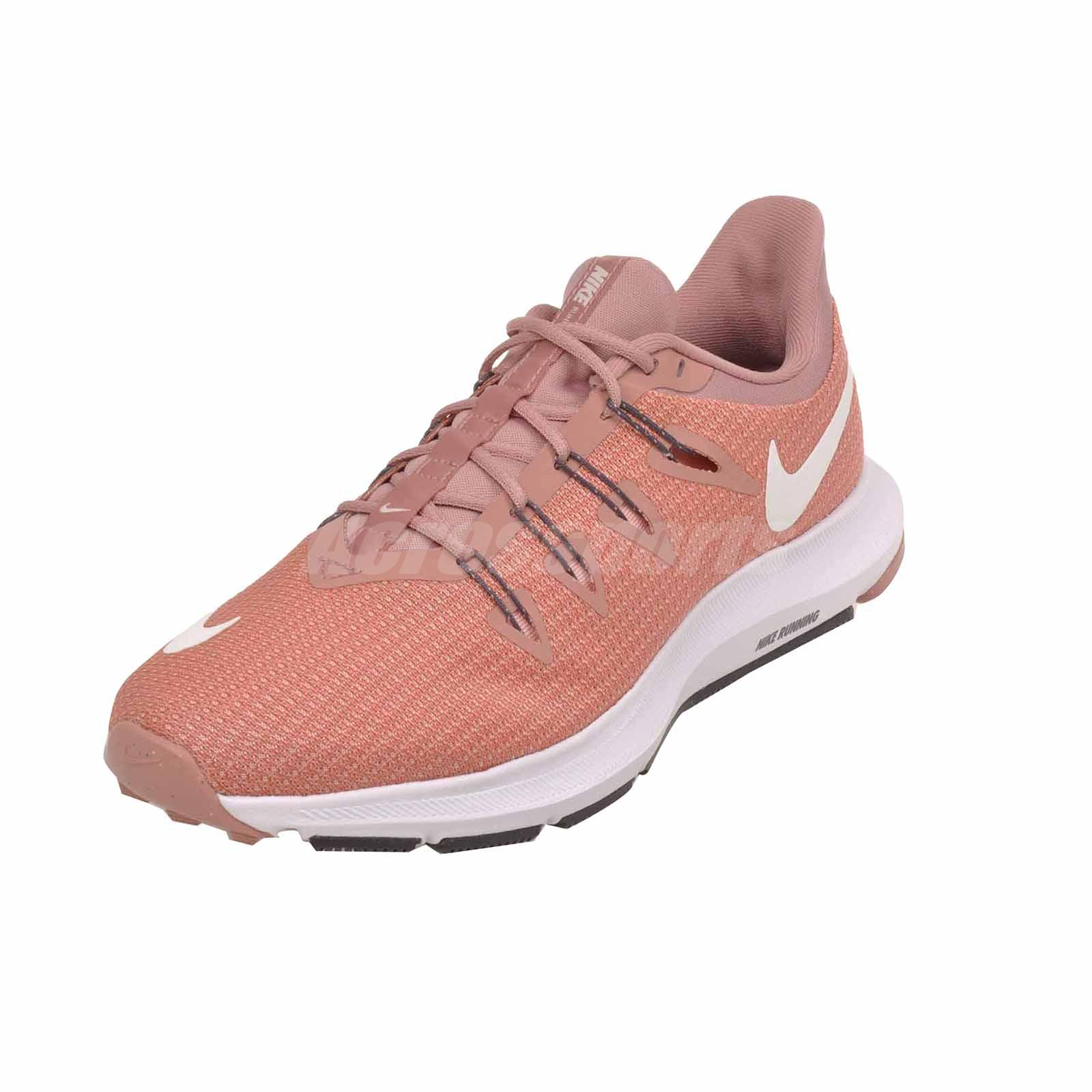 d5ae5a07549c0 Details about Nike Wmns Quest Running Womens Shoes Rust Pink AA7412-600