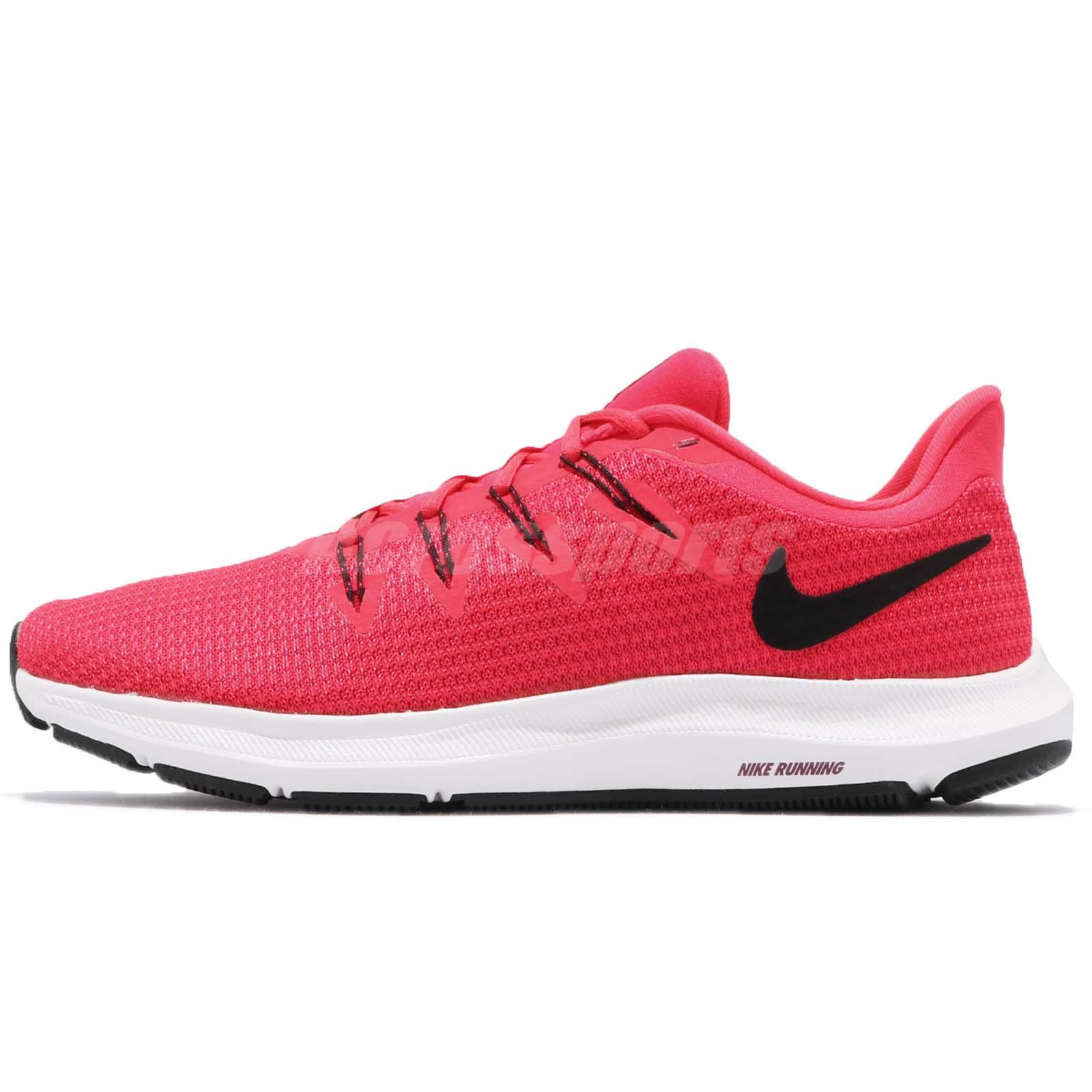 36295c30bc36 Nike Wmns Quest Red Orbit Black White Women Running Shoes Sneakers AA7412- 601