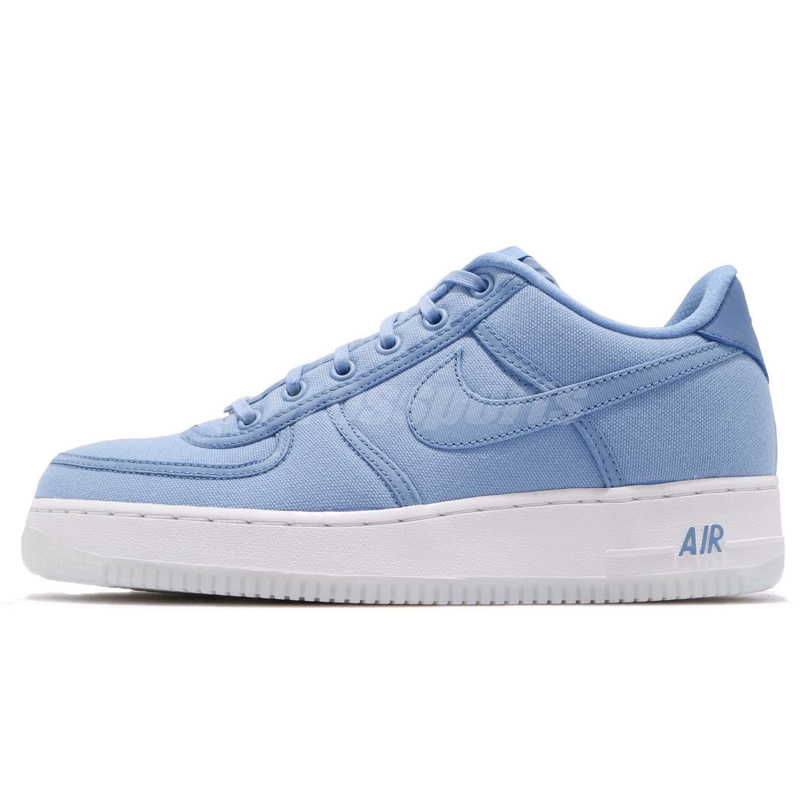 huge selection of 181ae 57553 ... Nike Air Force 1 Low Retro QS CNVS December Sky Blue Mens Shoes AF1  AH1067- ...
