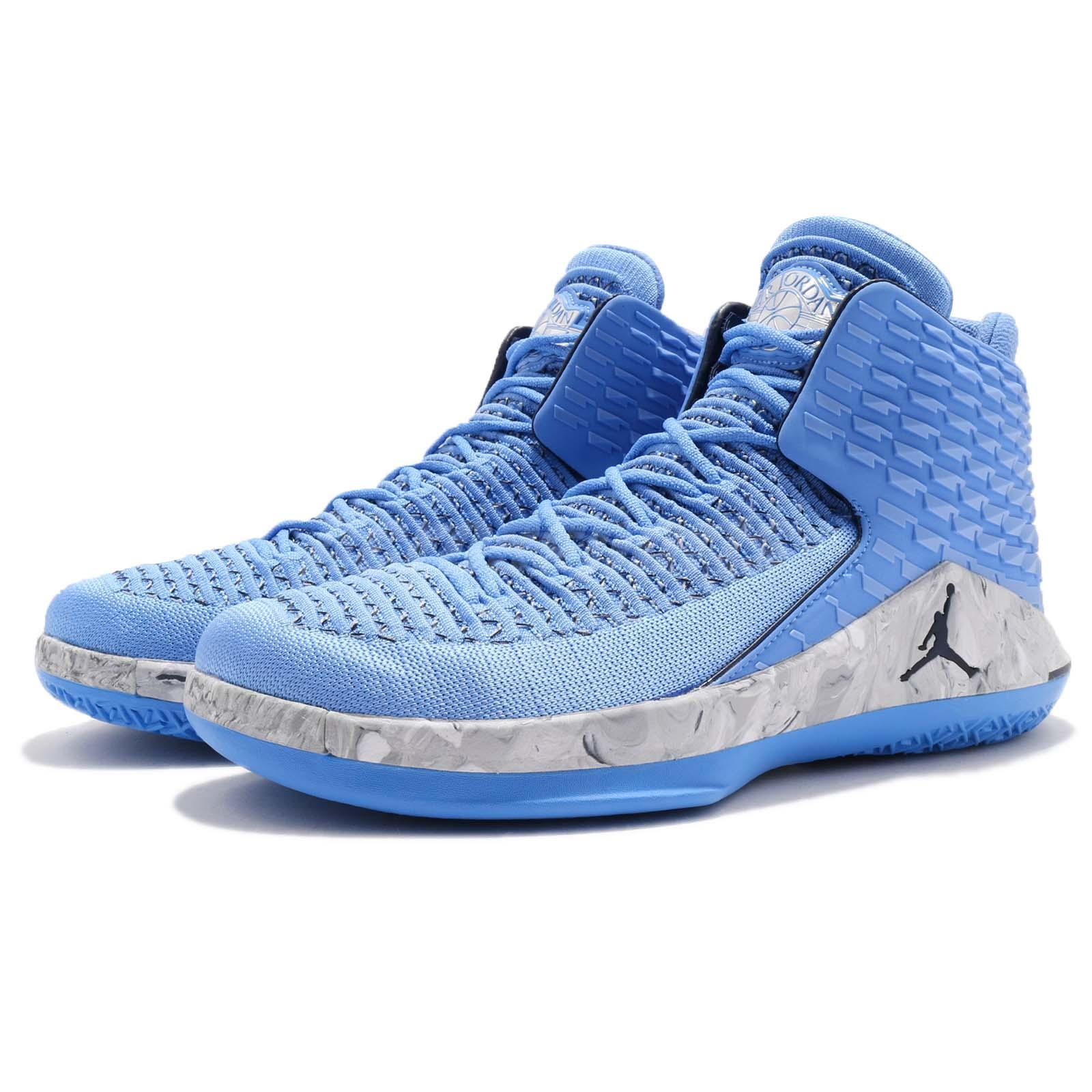 169cc6ac8939 ... Nike Air Jordan XXXII PF 32 UNC University Blue Asia Men Bas ...