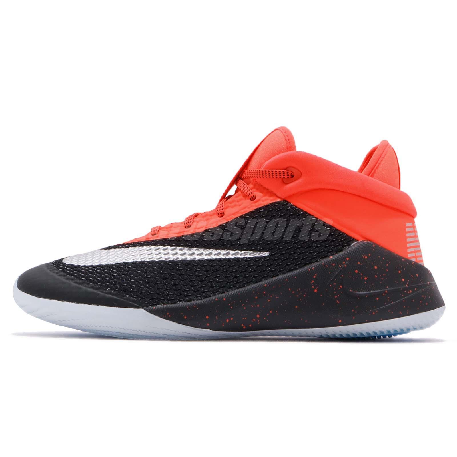 2c7563475034c9 Nike Future Flight GS Black Crimson Kid Youth Women Basketball Shoes AH3430- 001