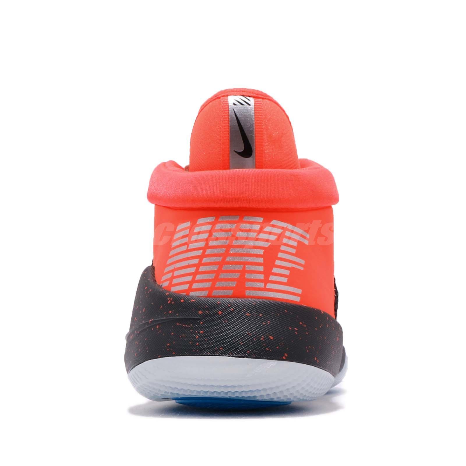 e1d5e293732441 Nike Future Flight GS Black Crimson Kid Youth Women Basketball Shoes ...