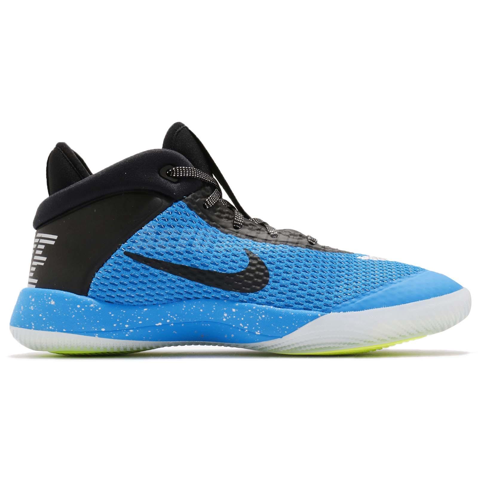 6734febd2edb64 Nike Future Flight GS Blue Black White Kid Youth Women Basketball ...