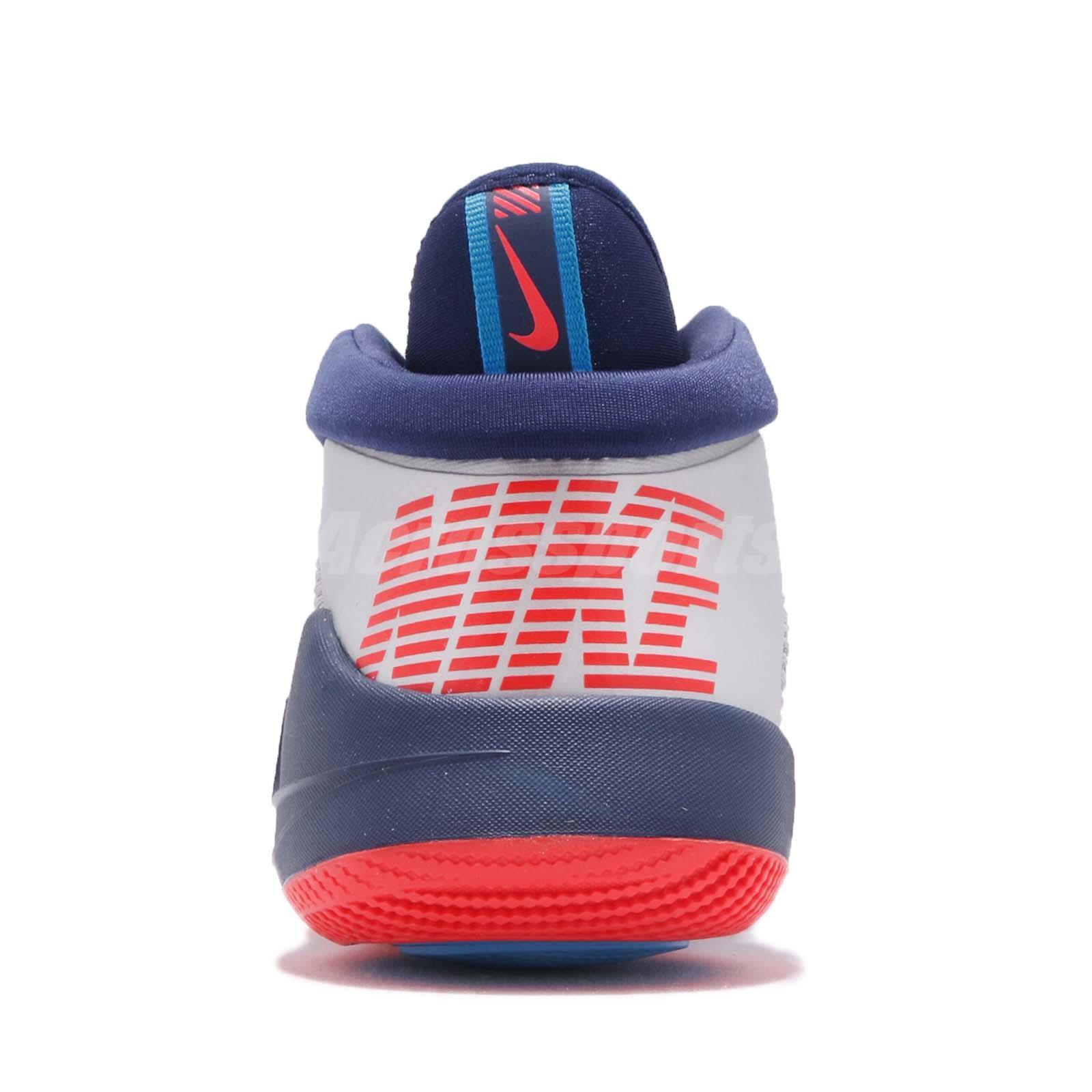 2ca4e73f7c450f Nike Future Flight GS Blue Navy Grey Kid Youth Women Basketball ...