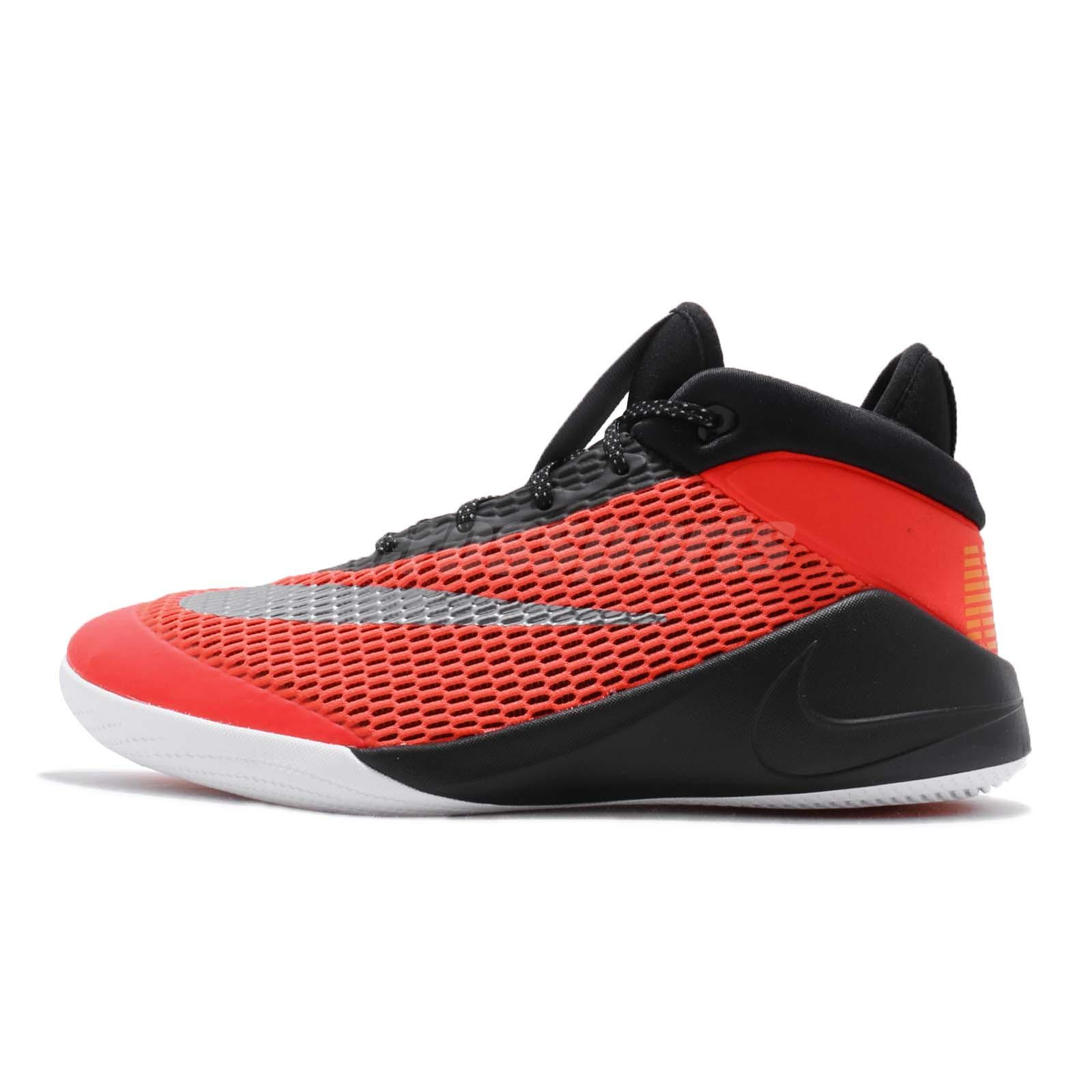 8a269369639381 Details about Nike Future Flight GS Bright Crimson Black Kid Youth Women  Basketball AH3430-600