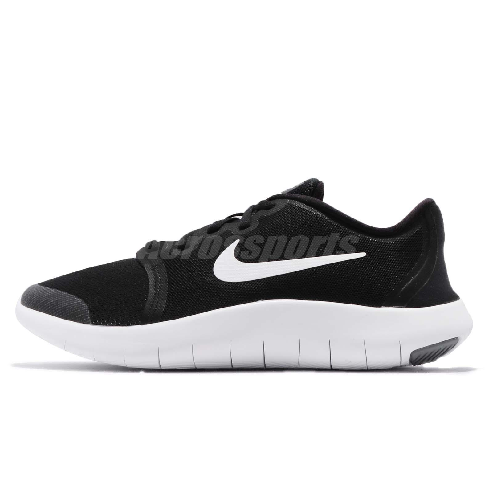 dc482712ecf5b Nike Flex Contact 2 GS II Black Kids Youth Women Running Shoes AH3443-002