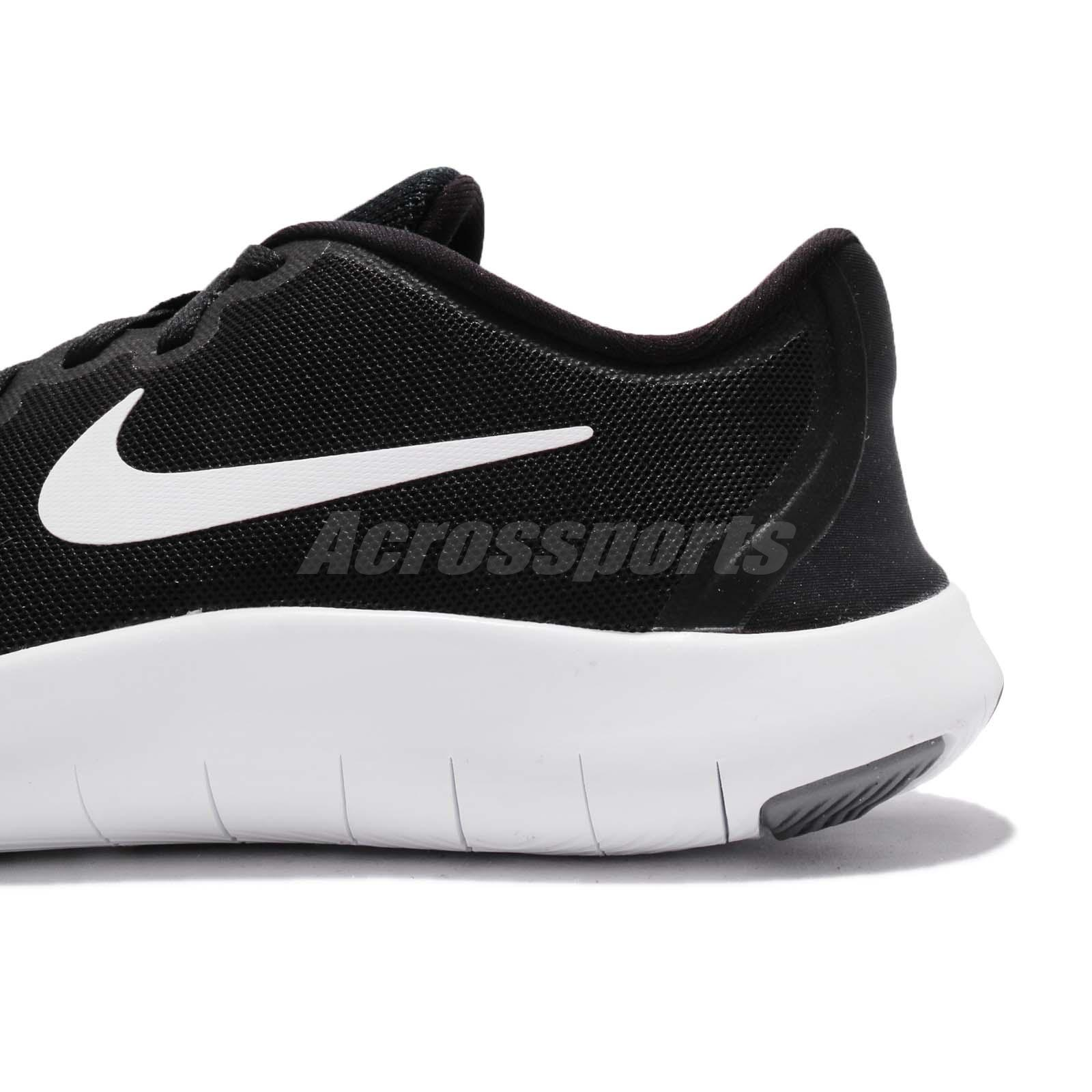 1f7b750d36c24 Nike Flex Contact 2 GS II Black Kids Youth Women Running Shoes ...