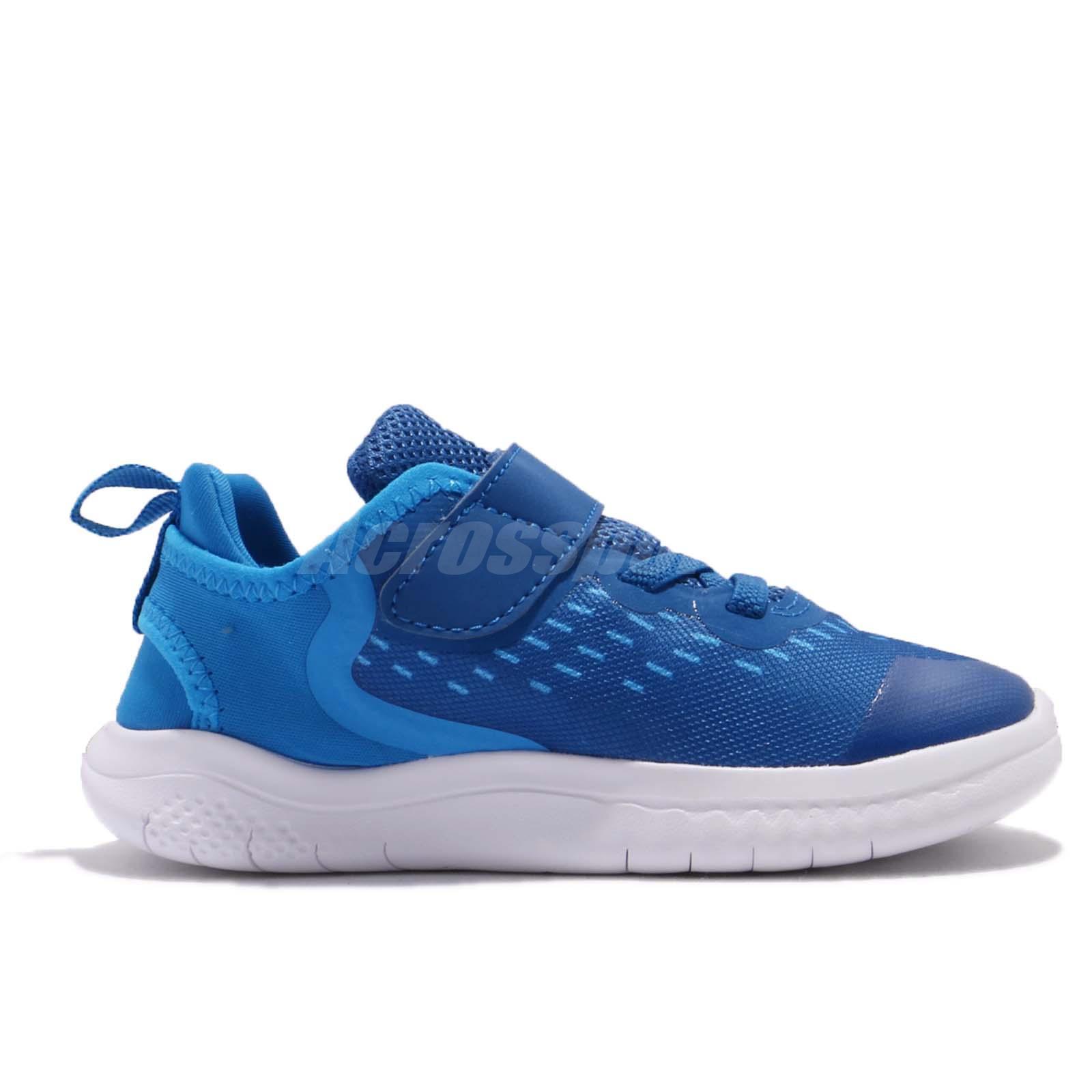 Toddler Ah3453-401 Nike Free Rn 2018 TDV