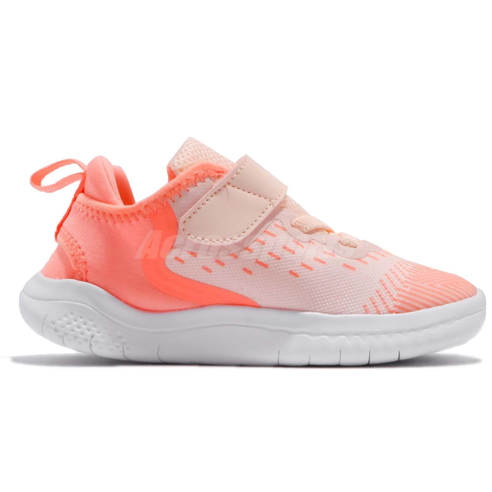 227c179ebeb45 Nike Free RN 2018 TDV Crimson Tint Toddler Infant Baby Shoes ...