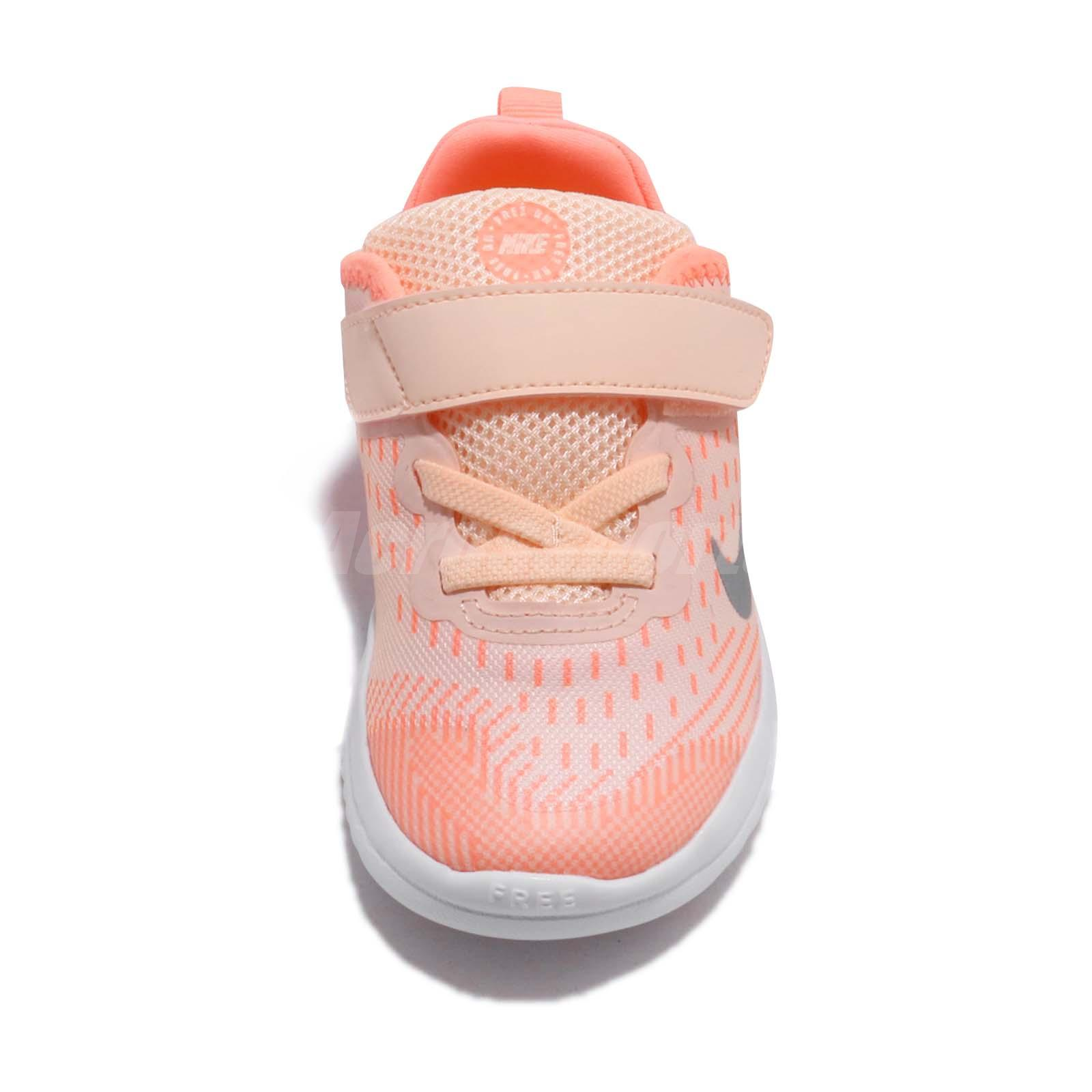 a9f378d33295 Nike Free RN 2018 TDV Crimson Tint Toddler Infant Baby Shoes ...
