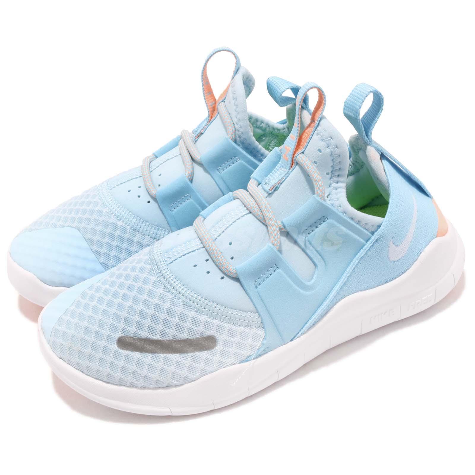 Nike Free RN CMTR 2018 PS White Blue