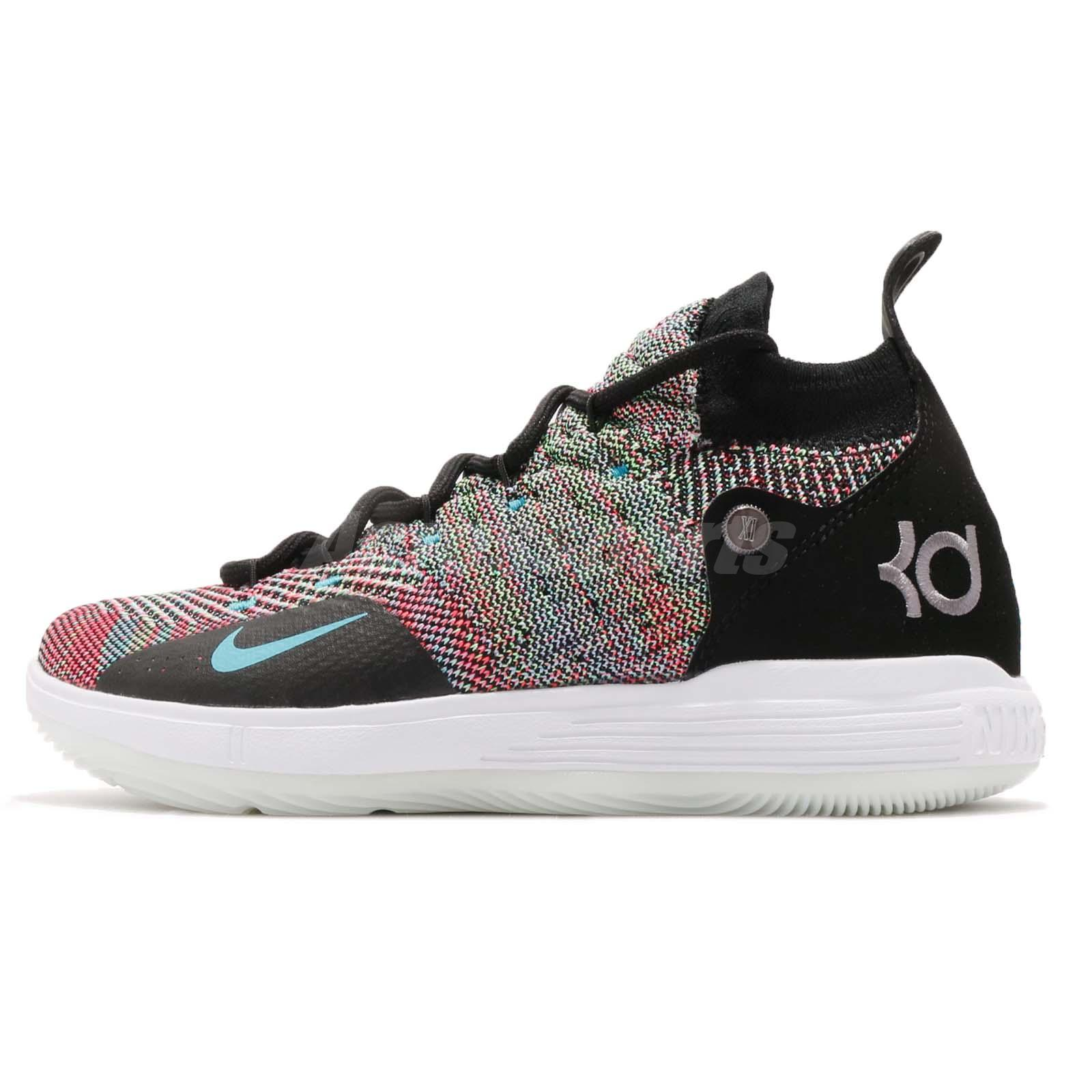 cbabe7598db1 Nike KD 11 GS XI Kevin Durant Multi Color Kid Youth Women Shoes AH3465-001