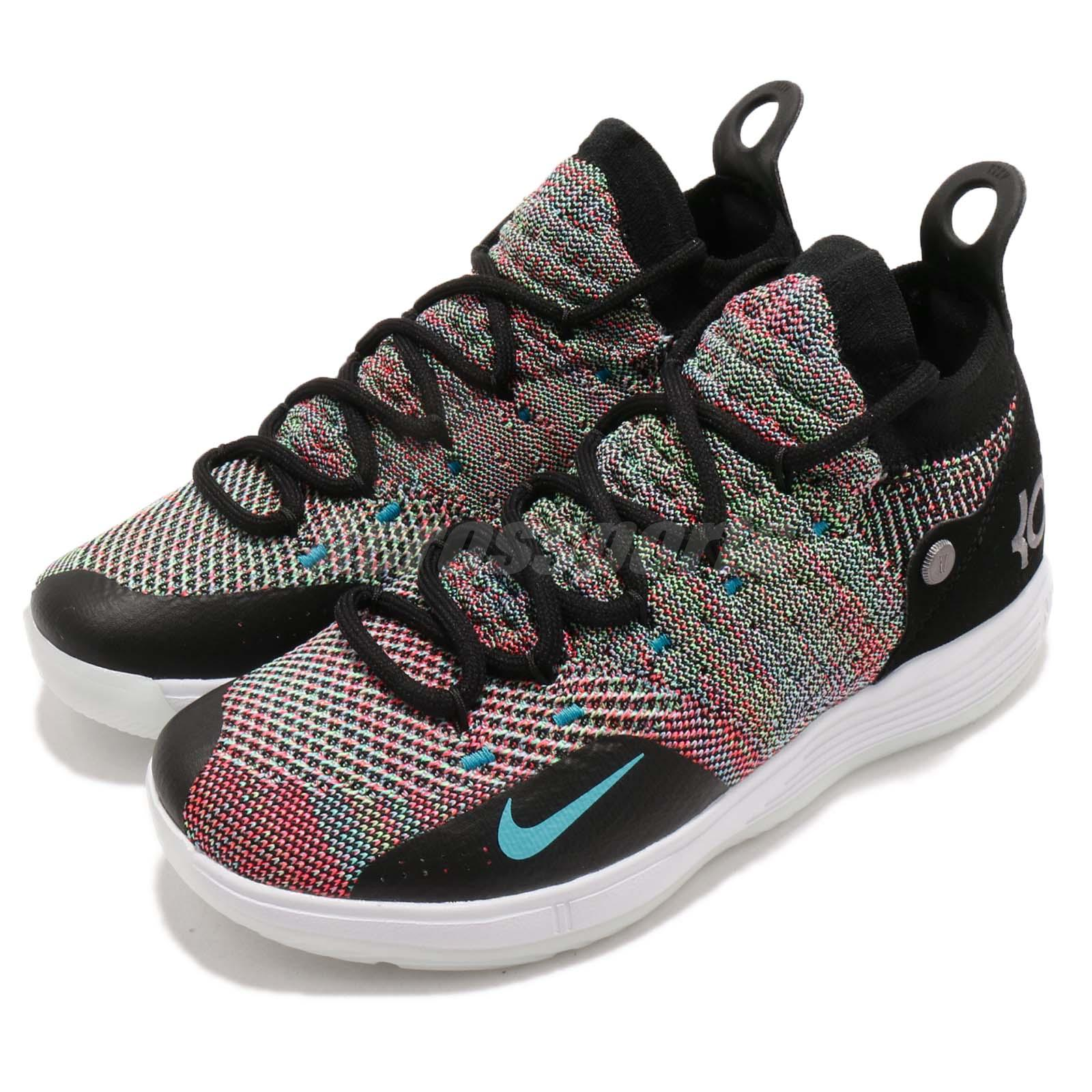415abfb3f48 Details about Nike KD 11 GS XI Kevin Durant Multi Color Kid Youth Women  Shoes AH3465-001