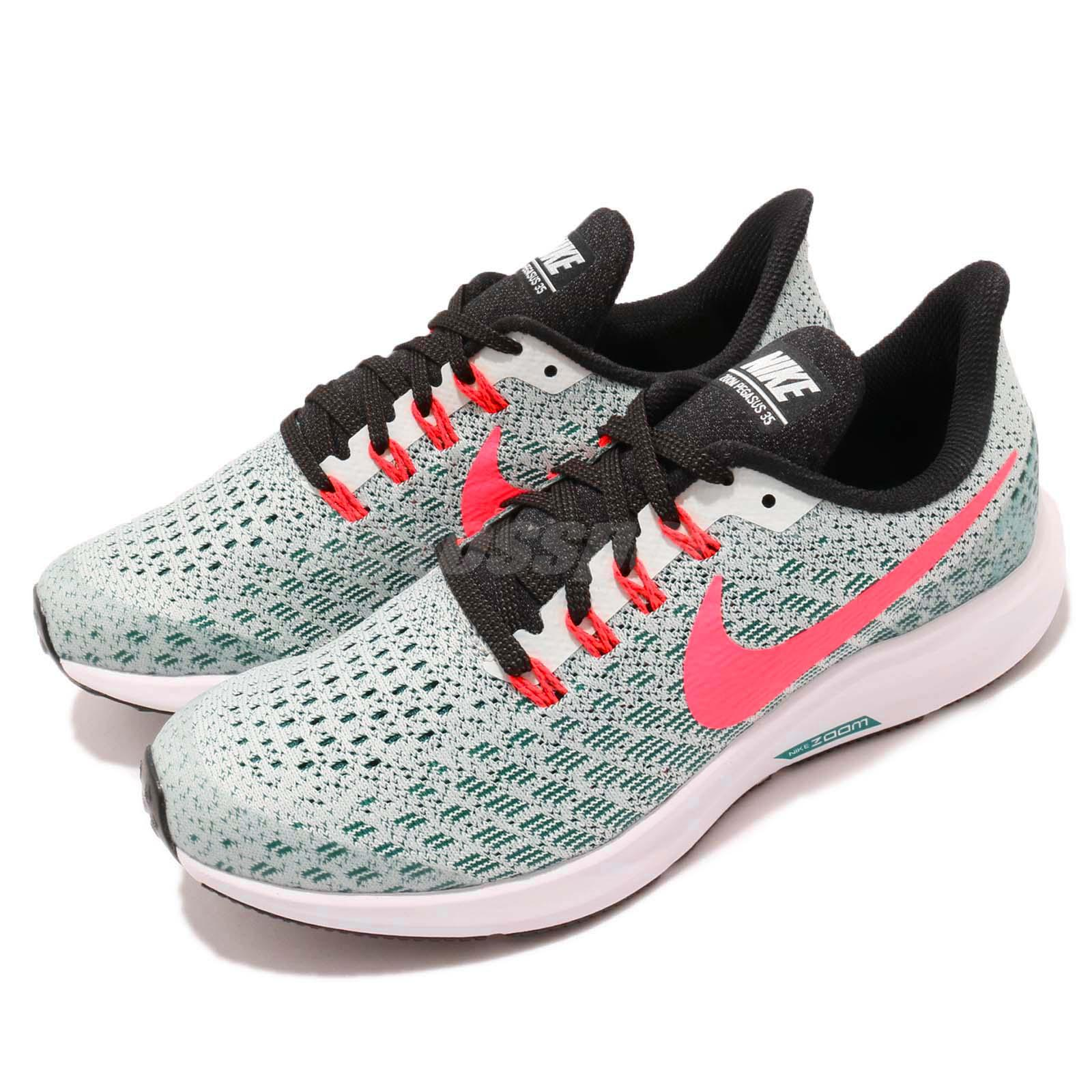 the best attitude b9393 3e615 Details about Nike Air Zoom Pegasus 35 GS Barely Grey Hot Punch Kid Youth  Shoes AH3482-004