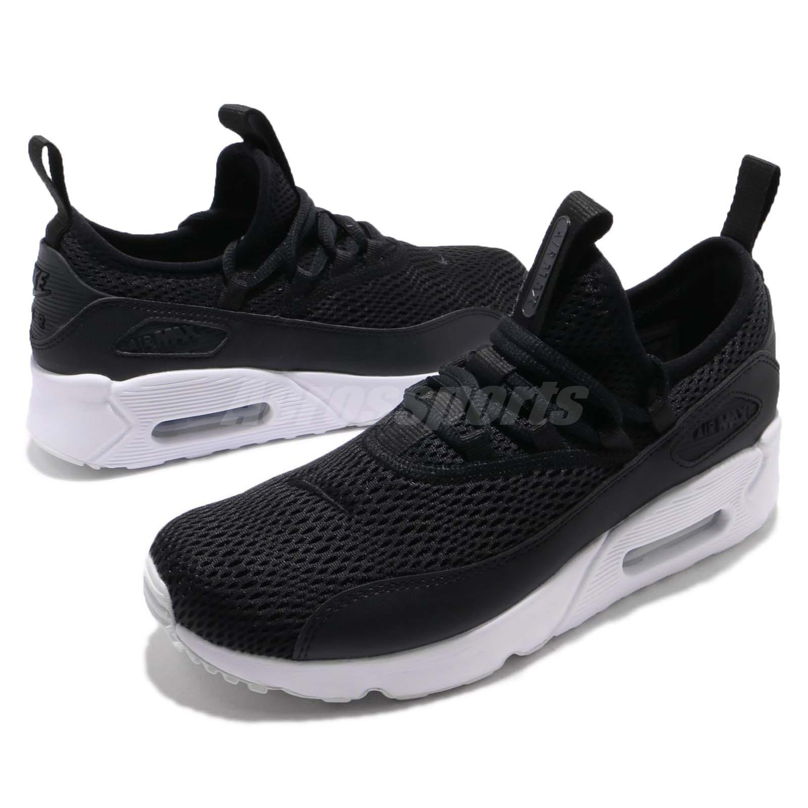 73a71b2395cf Details about Nike Air Max 90 EZ GS Black White Kids Youth Women Running  Shoes AH5211-005