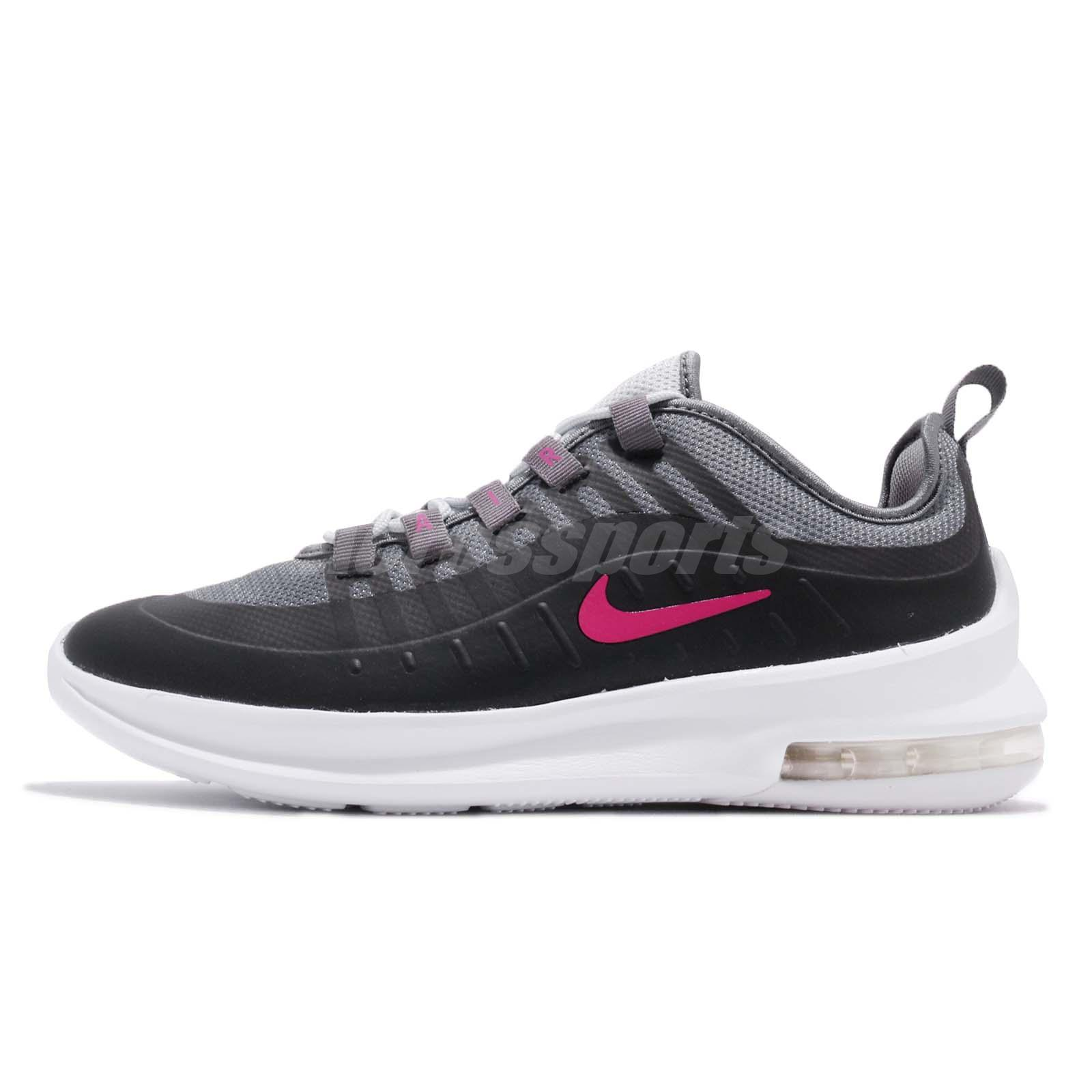 469fbcb575 Nike Air Max Axis GS Black Pink Kid Youth Women Running Shoes Sneaker  AH5226-001