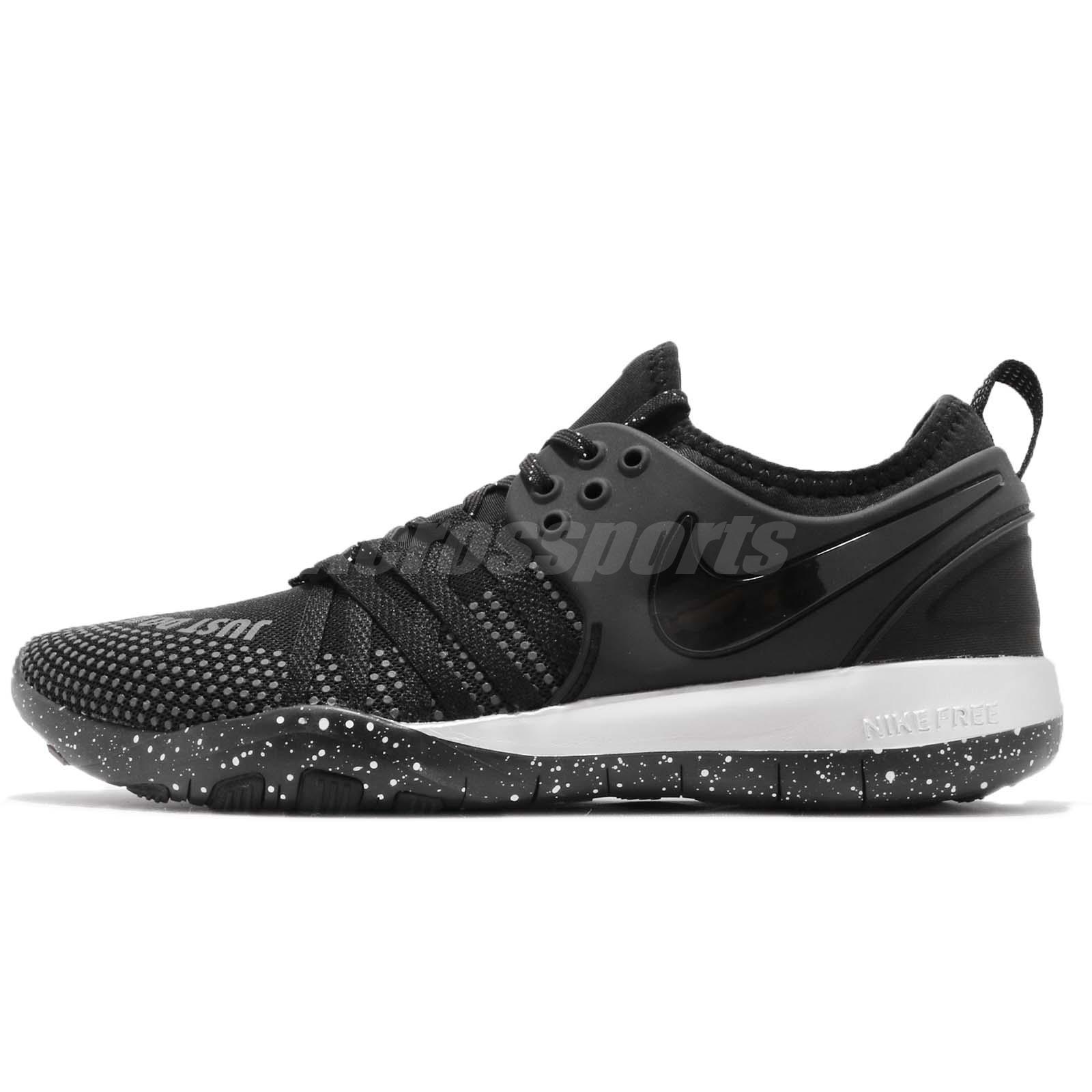 550d0bb809f0 Nike Wmns Free TR 7 Selfie Black Silver Women Cross Training Shoes AH5734- 001