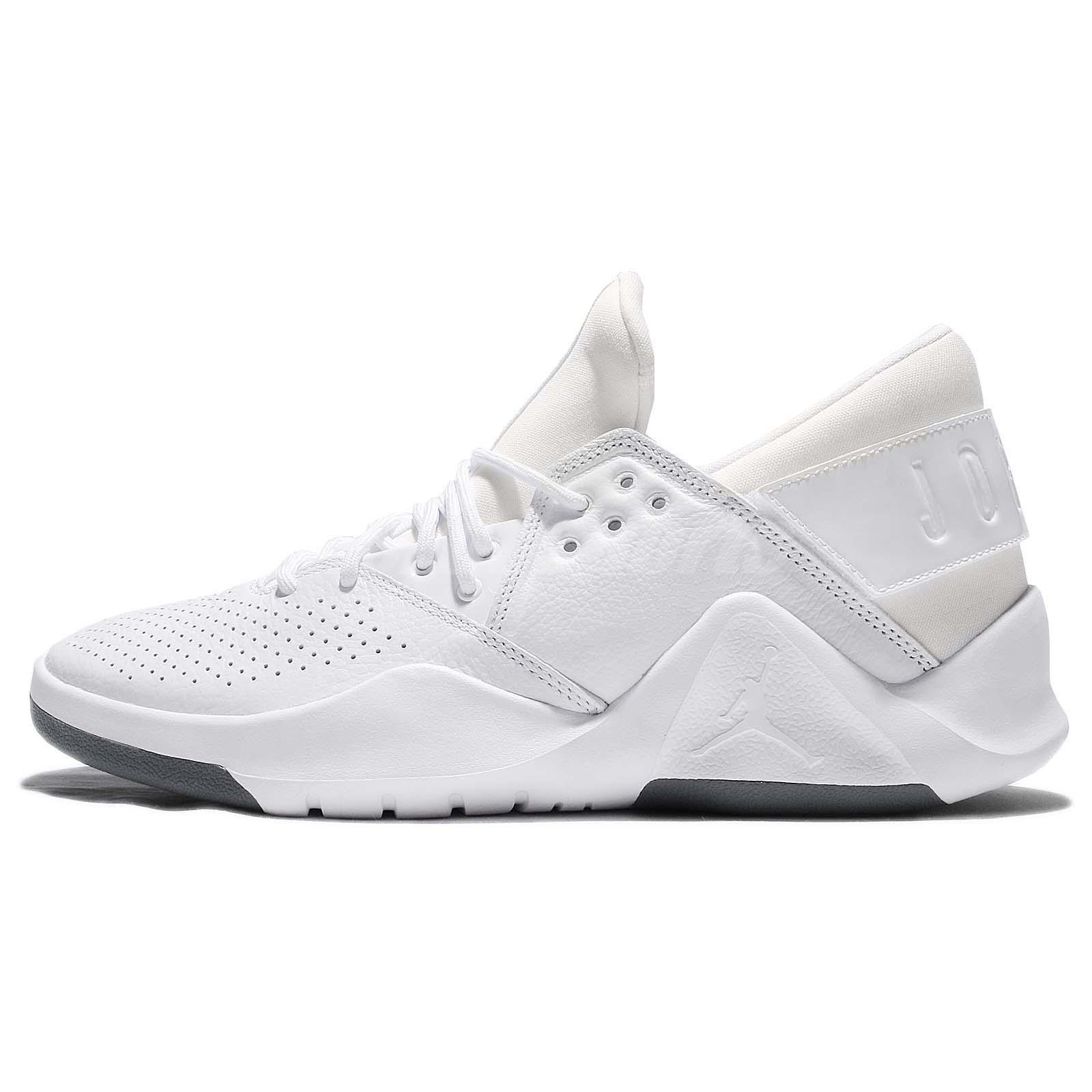 6b3d4795e2e Nike Jordan Flight Fresh PREM Low White Men Basketball Training Shoes  AH6462-100