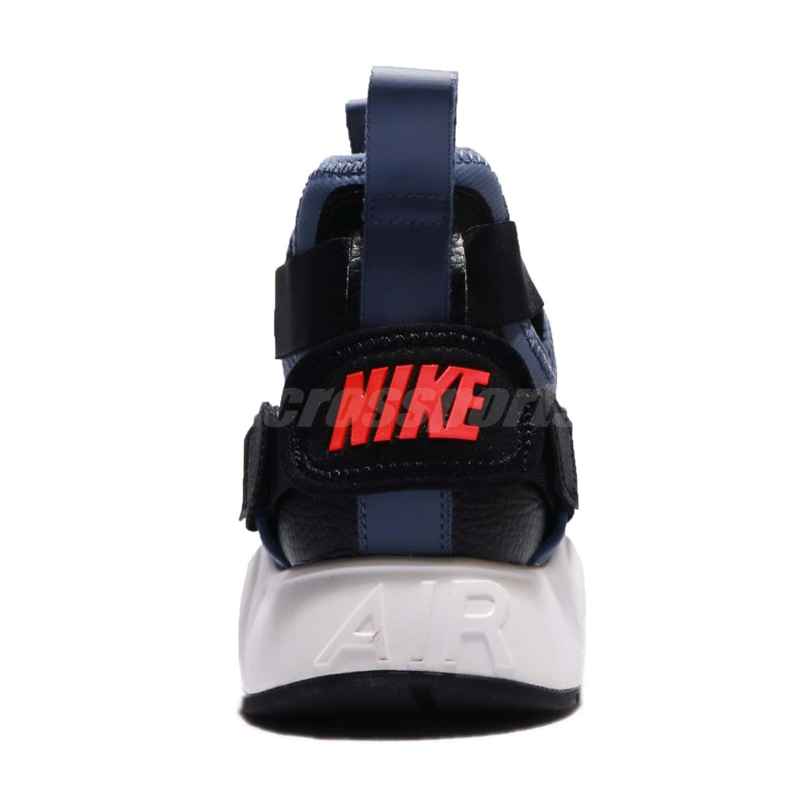 205bd3e23 Wmns Nike Air Huarache City Strap Navy Black Red Women Running Shoes ...