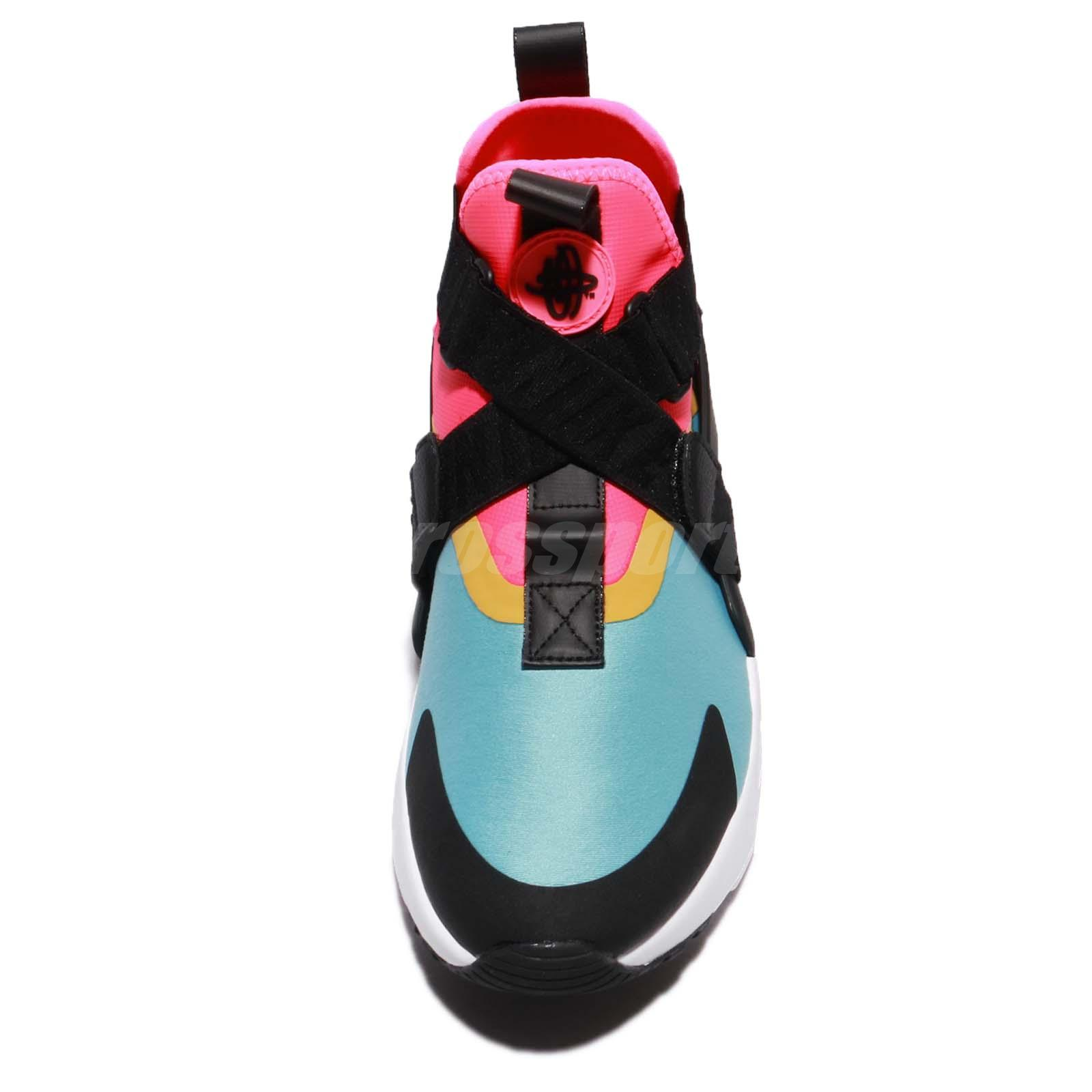 228d1abb842f Wmns Nike Air Huarache City Set Bleached Aqua Pink Blue Women ...