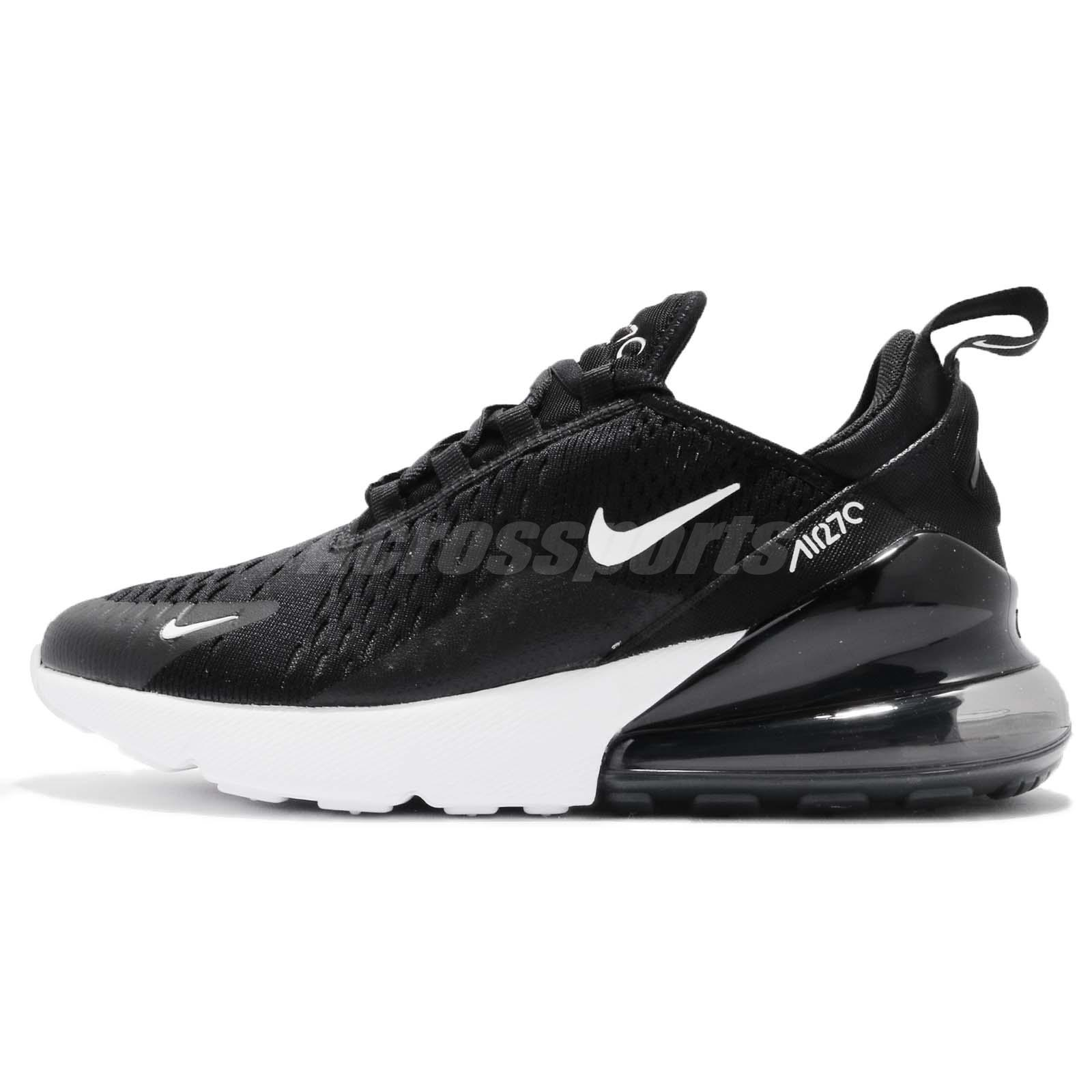 Nike Wmns Air Max 270 Black Anthracite White Women Running Shoes AH6789-001 111f8678f5f