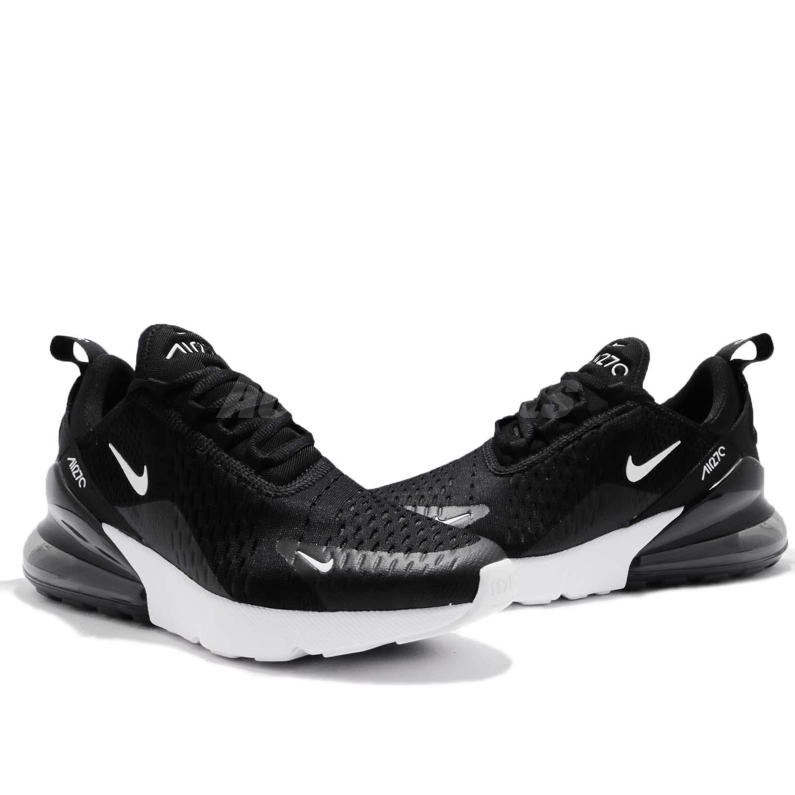 Nike Wmns Air Max 270 Black Anthracite White Women Running Shoes ... bddfd39be15