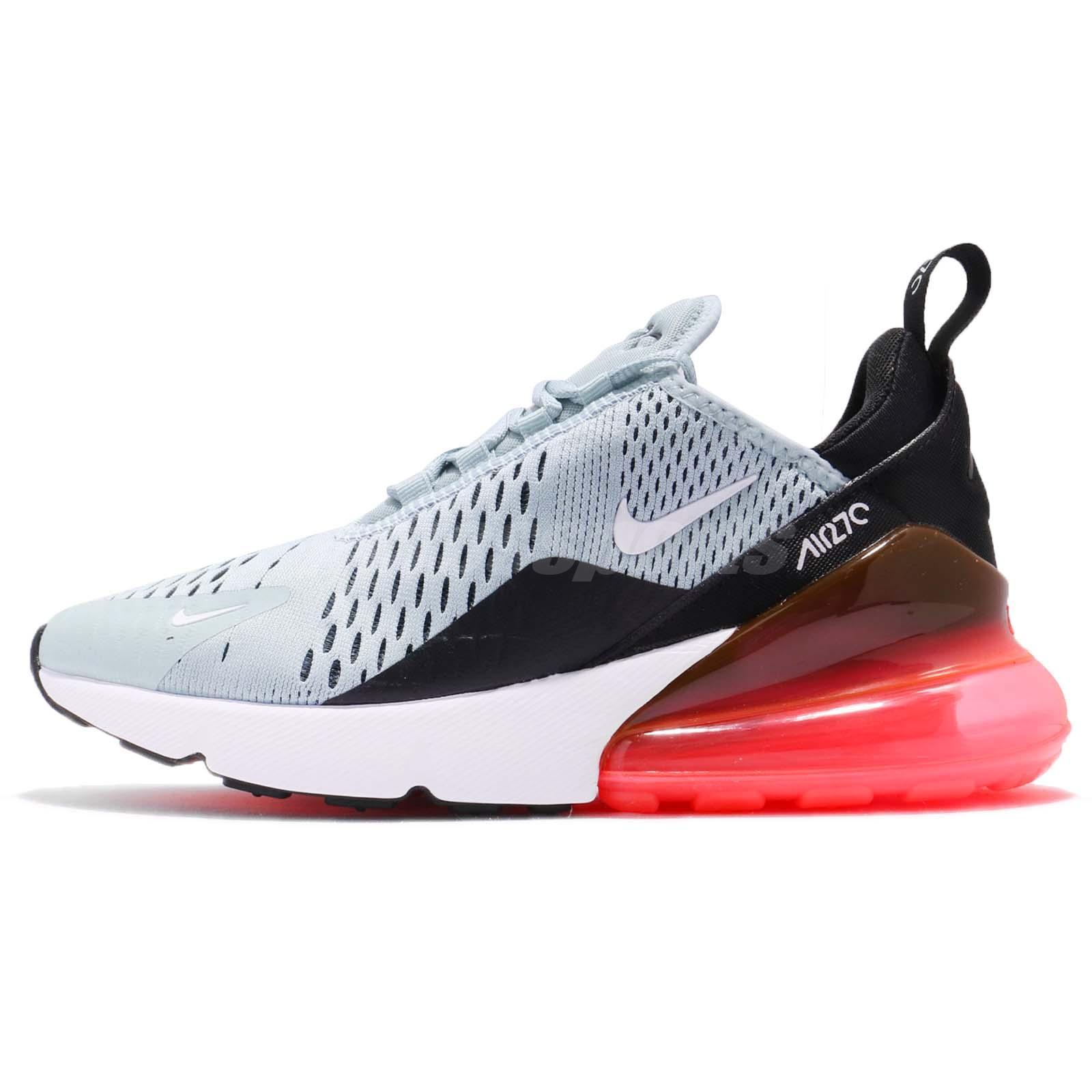 the best attitude a380f 4d320 Nike Wmns Air Max 270 Ocean Bliss Hot Punch Black Women Running Shoes  AH6789-400