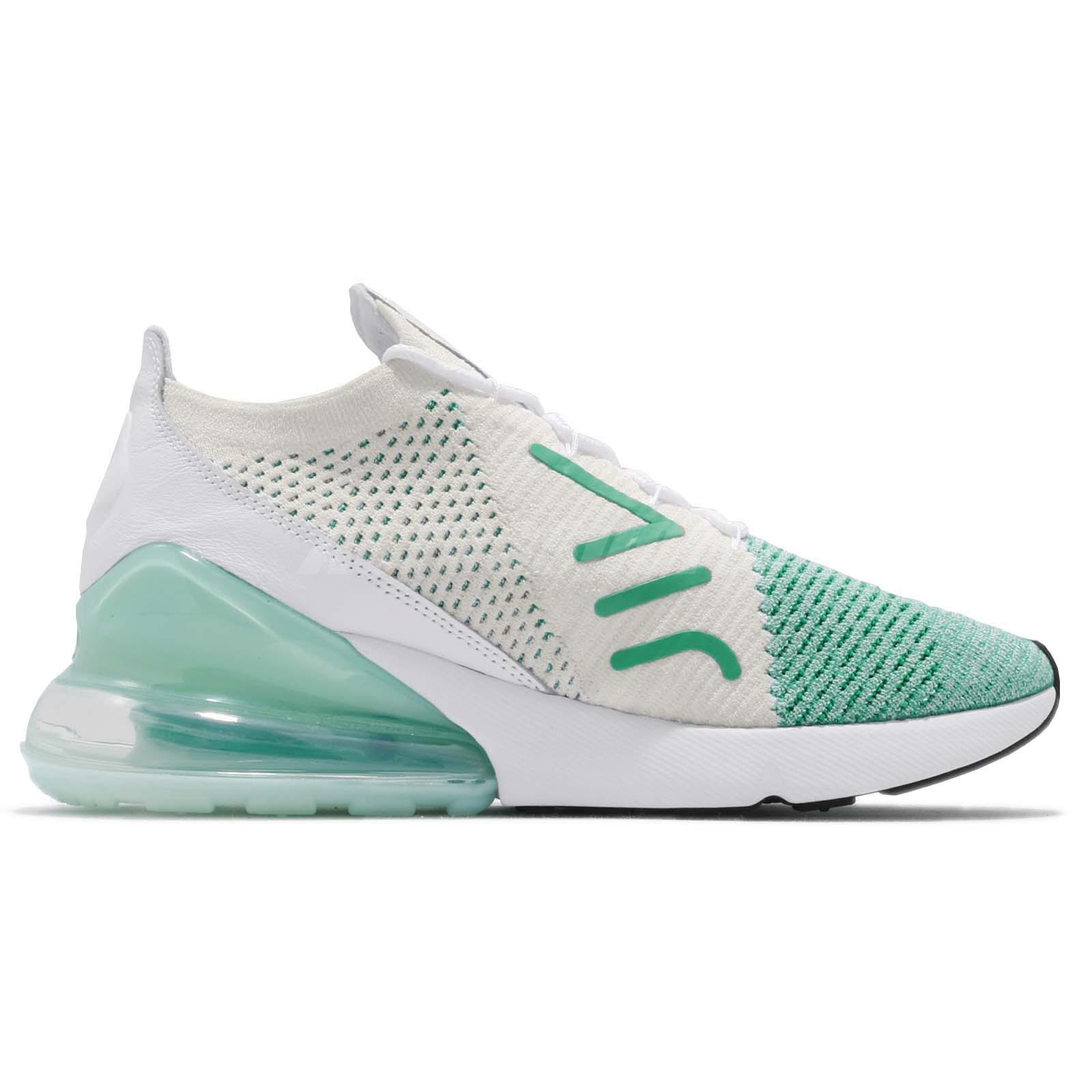 Nike Wmns Air Max 270 Flyknit Igloo White Women Running Shoes