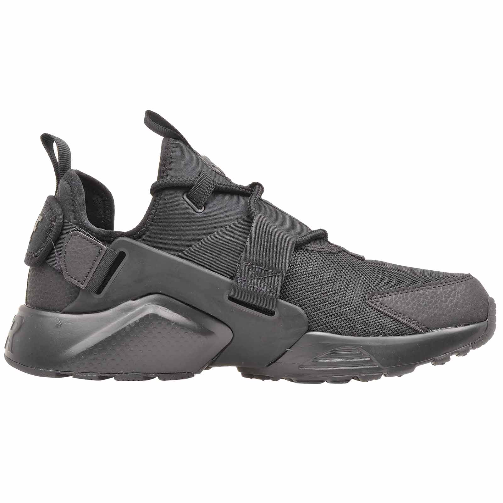 13fa6ea4b05c0 Nike Air Huarache City Low Running Womens Shoes Black Grey AH6804 ...