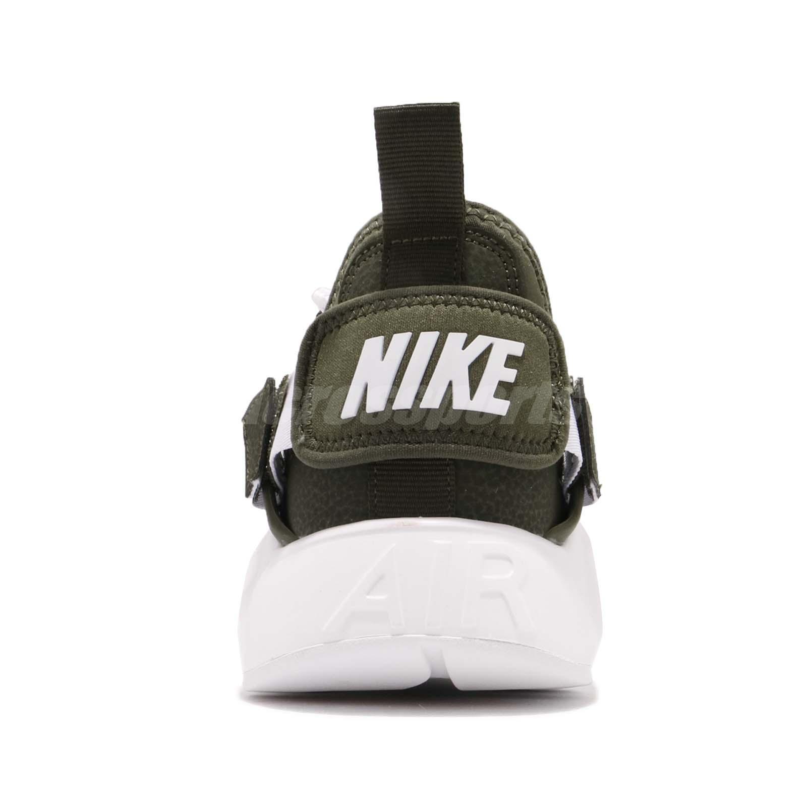 f1ca2d67076f3 Nike W Air Huarache City Low Cargo Khaki Green White Women Shoes ...