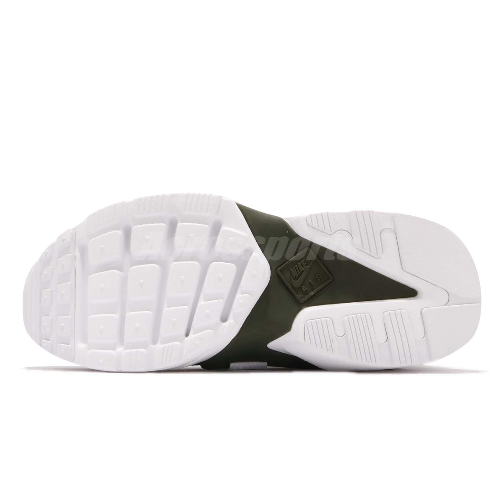 01ca7b7f7c7ff Nike W Air Huarache City Low Cargo Khaki Green White Women Shoes ...