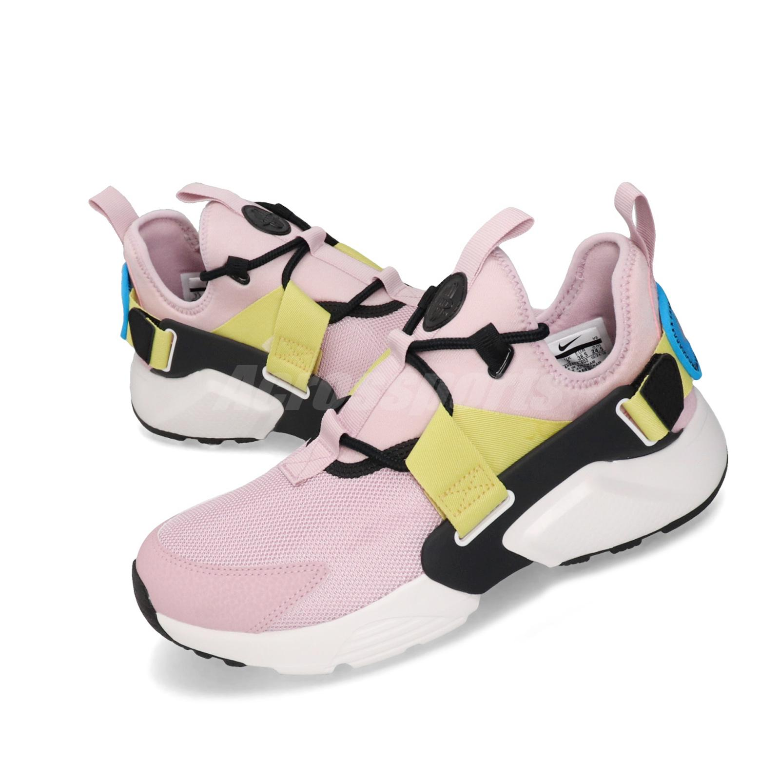 nike air huarache city low rosa