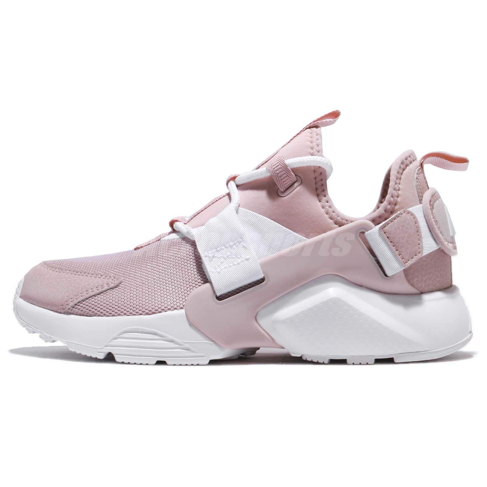 newest 700f7 cbbc7 Wmns Nike Air Huarache City Low Particle Rose Pink Women Running Shoe AH6804,600  ...
