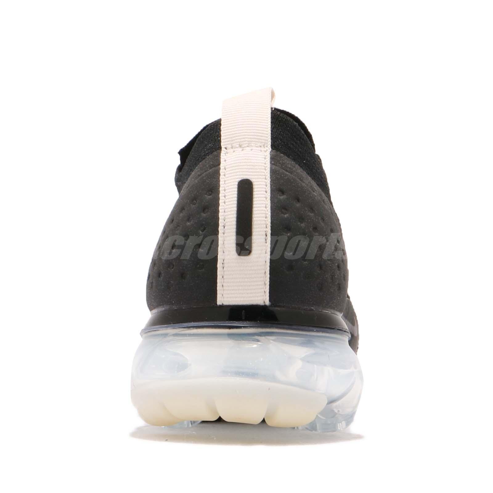 e74a4f1c7b29 Nike Nike Air Vapormax FK Moc 2 Flyknit II Black Light Cream Men Running  AH7006-002
