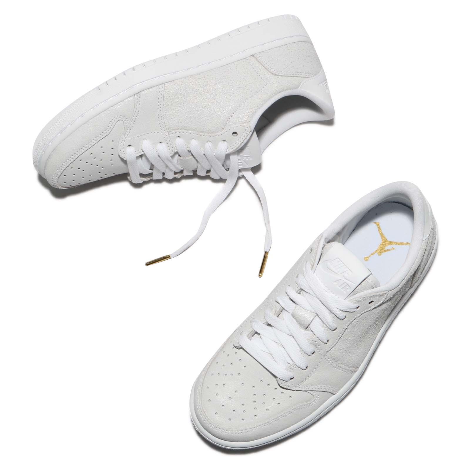 Athletic Shoes Responsible Nike Wmns Air Jordan 1 Retro Low Ns No Swoosh White Grey Women Shoes Ah7232-100