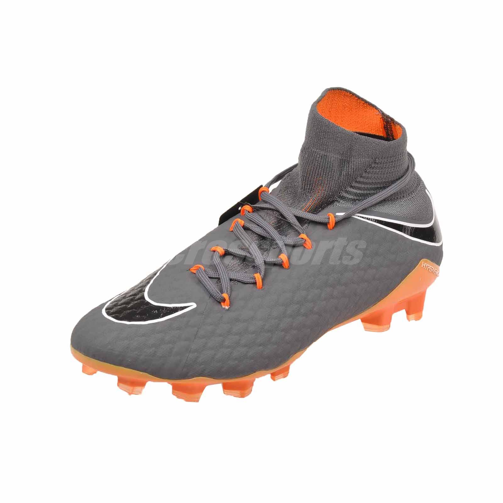 Nike Phantom 3 Pro DF FG Soccer Mens Shoes Dark Grey AH7275-081  f0c50ed70