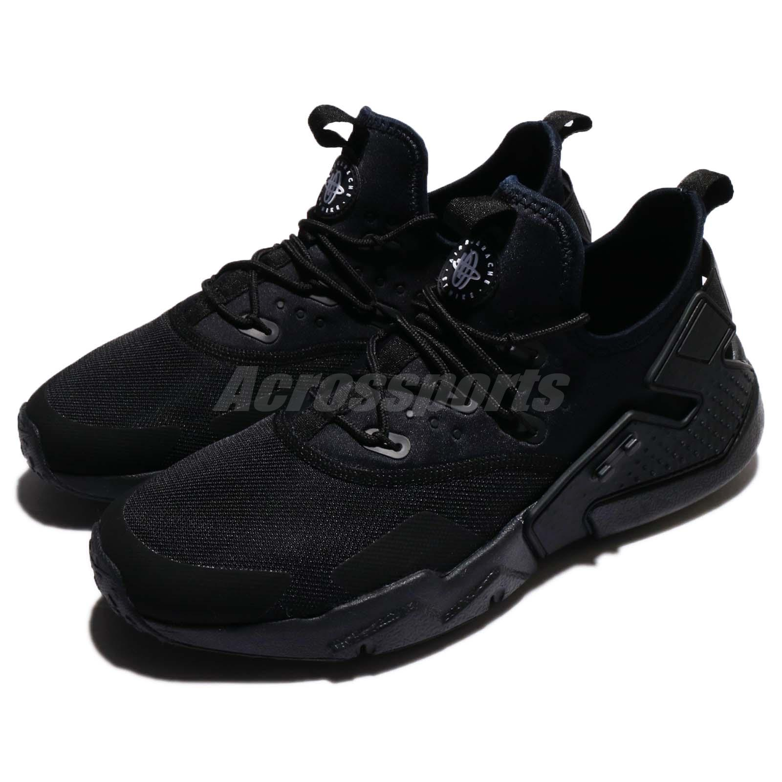 3c6689536330 Details about Nike Air Huarache Drift Black White Mens Running Shoes  Sneakers AH7334-003