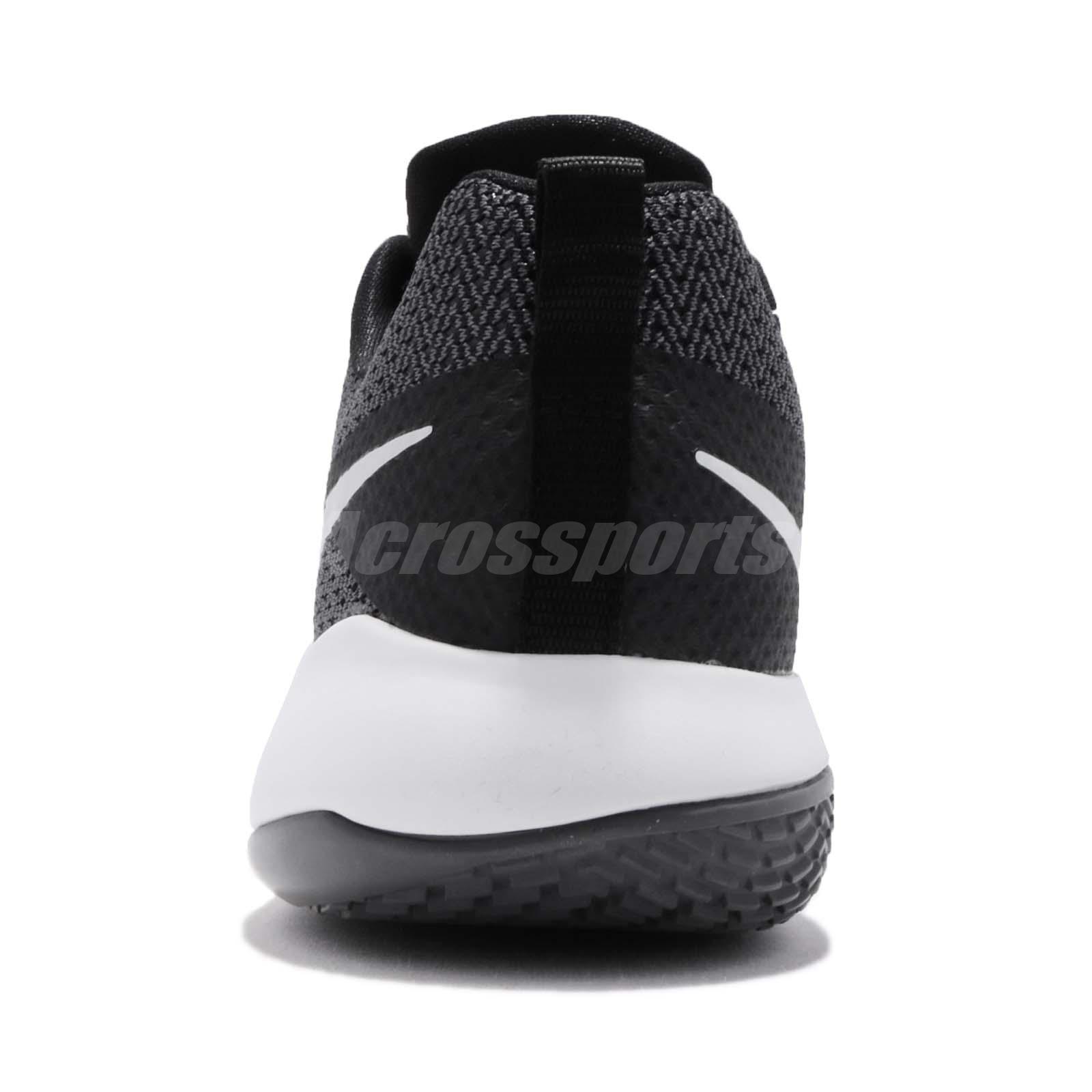700e16ae0ee Nike Zoom Live II EP 2 Black Pure Platinum Grey Men Basketball Shoes ...
