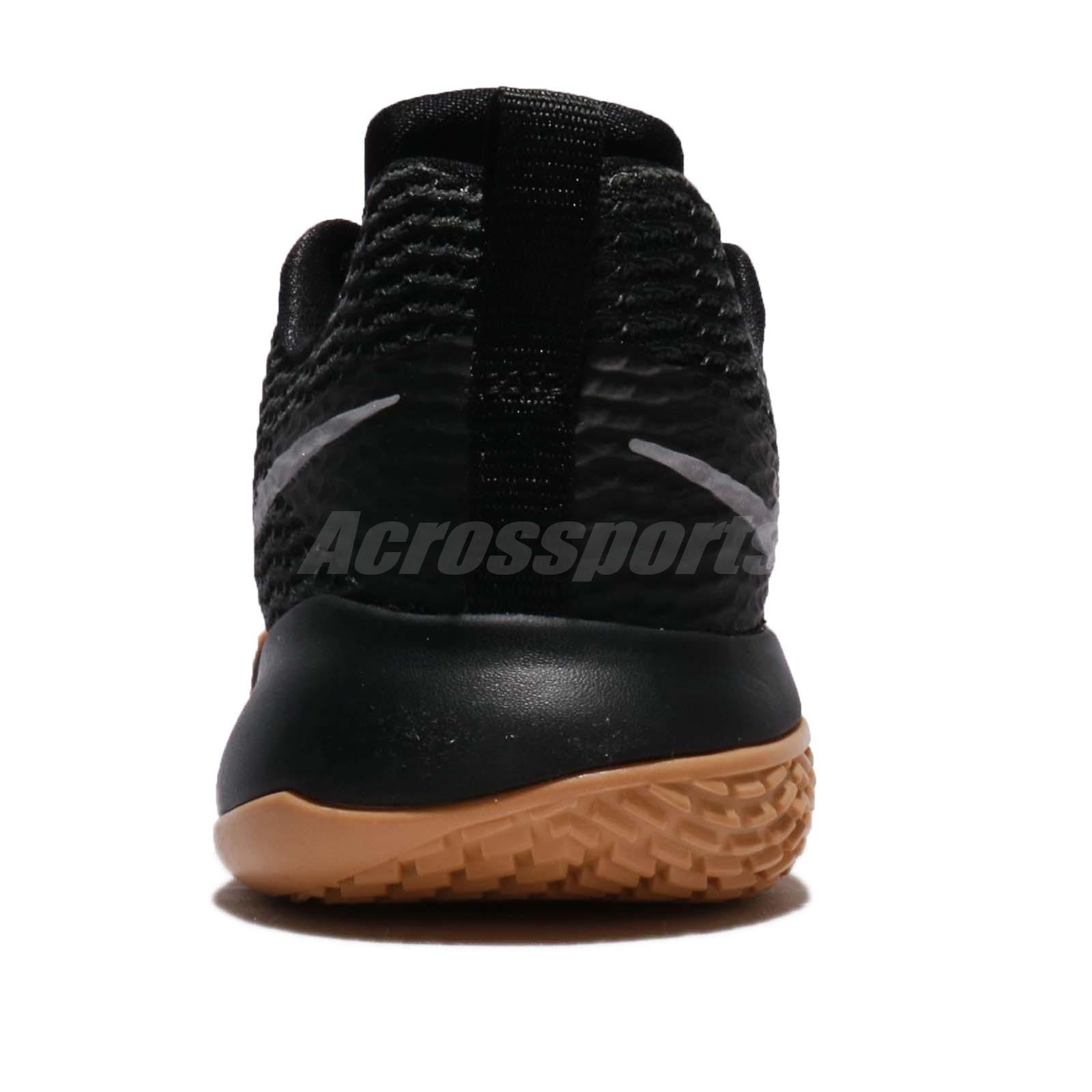 Wmns Nike Zoom Live Ii Ep Black Reflect Silver Gum Women Basketball Ah7579-001 Various Styles Women's Shoes Athletic Shoes