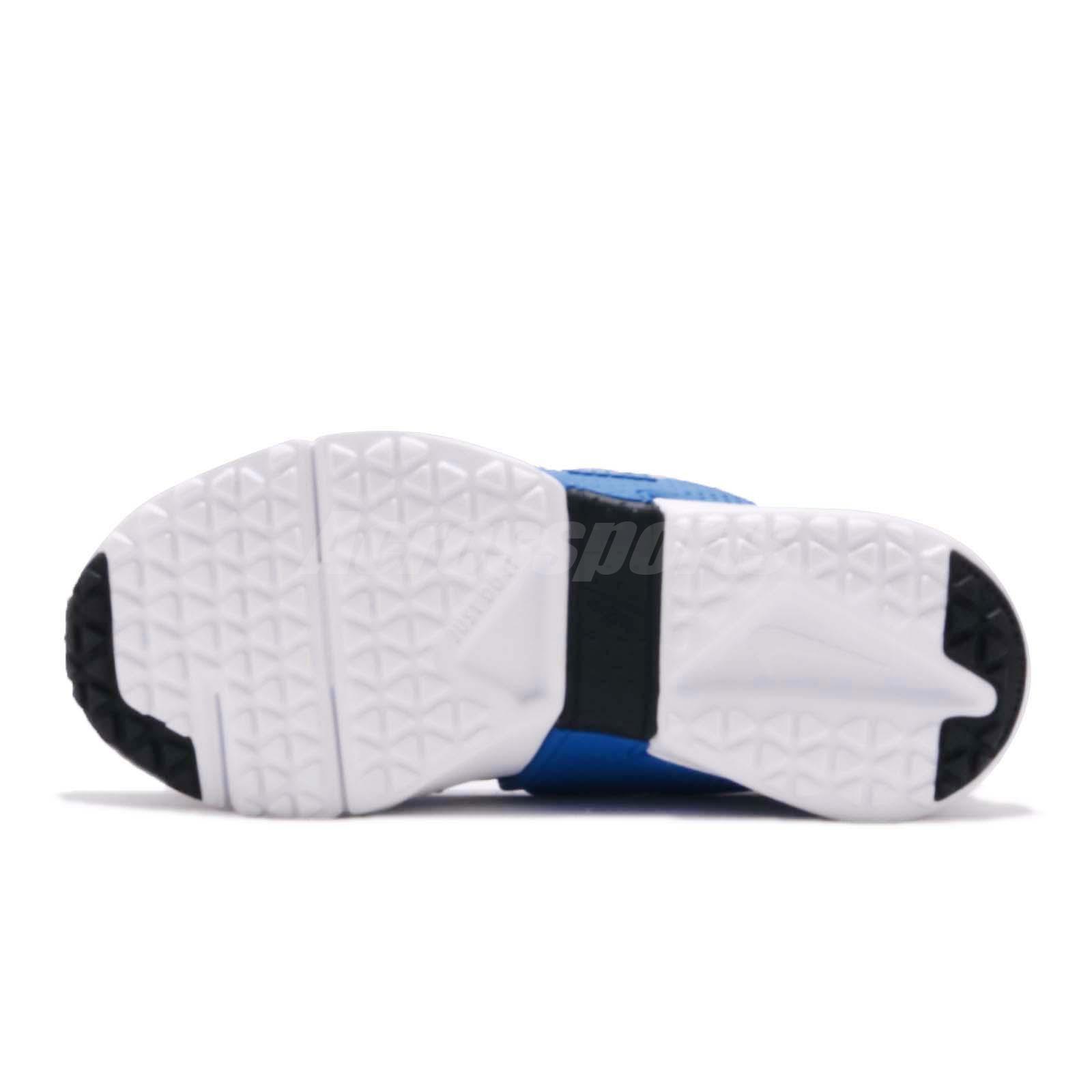 a73e533a13ea4 Nike Huarache Extreme PS Black Blue White Kid Preschool Slip On ...