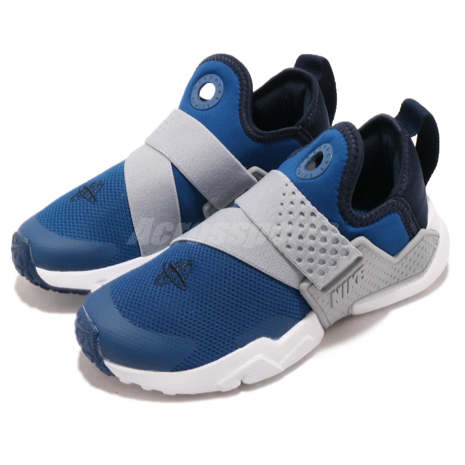 b340c4eed450 Details about Nike Huarache Extreme PS Blue Grey Preschool Boy Girl Slip On  Shoes AH7826-401