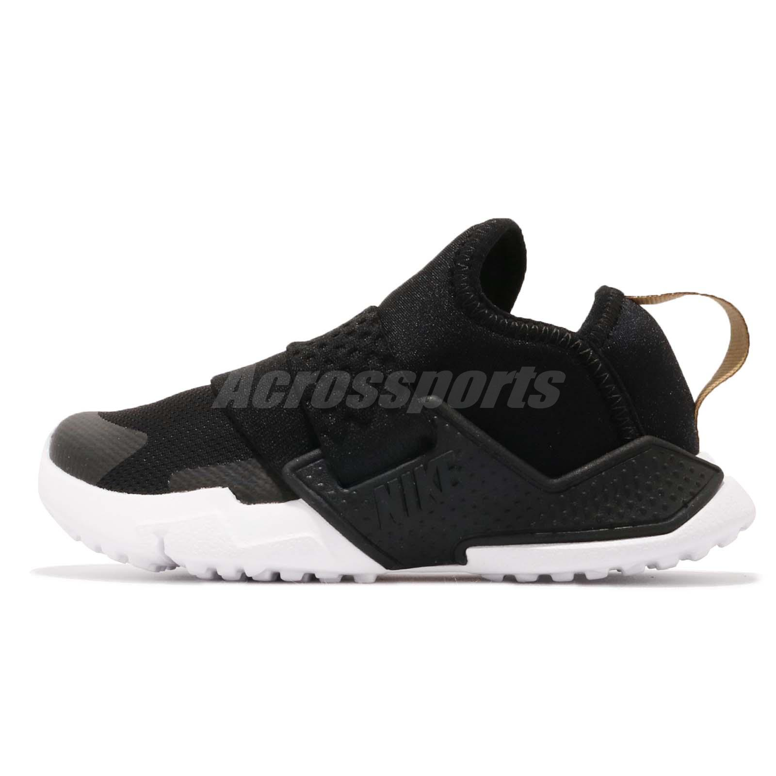 ... discount code for nike huarache extreme td black gold white toddler  infant baby shoes ah7827 007 ffe510001