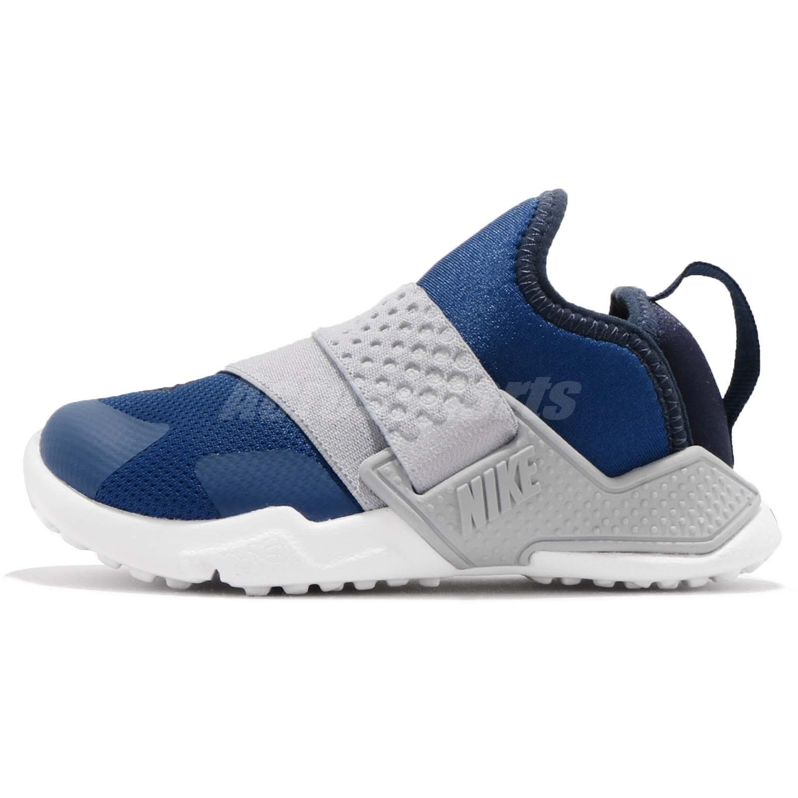 07508a8d1 Nike Huarache Extreme TD Blue Grey White Toddler Infant Baby Shoes  AH7827-401