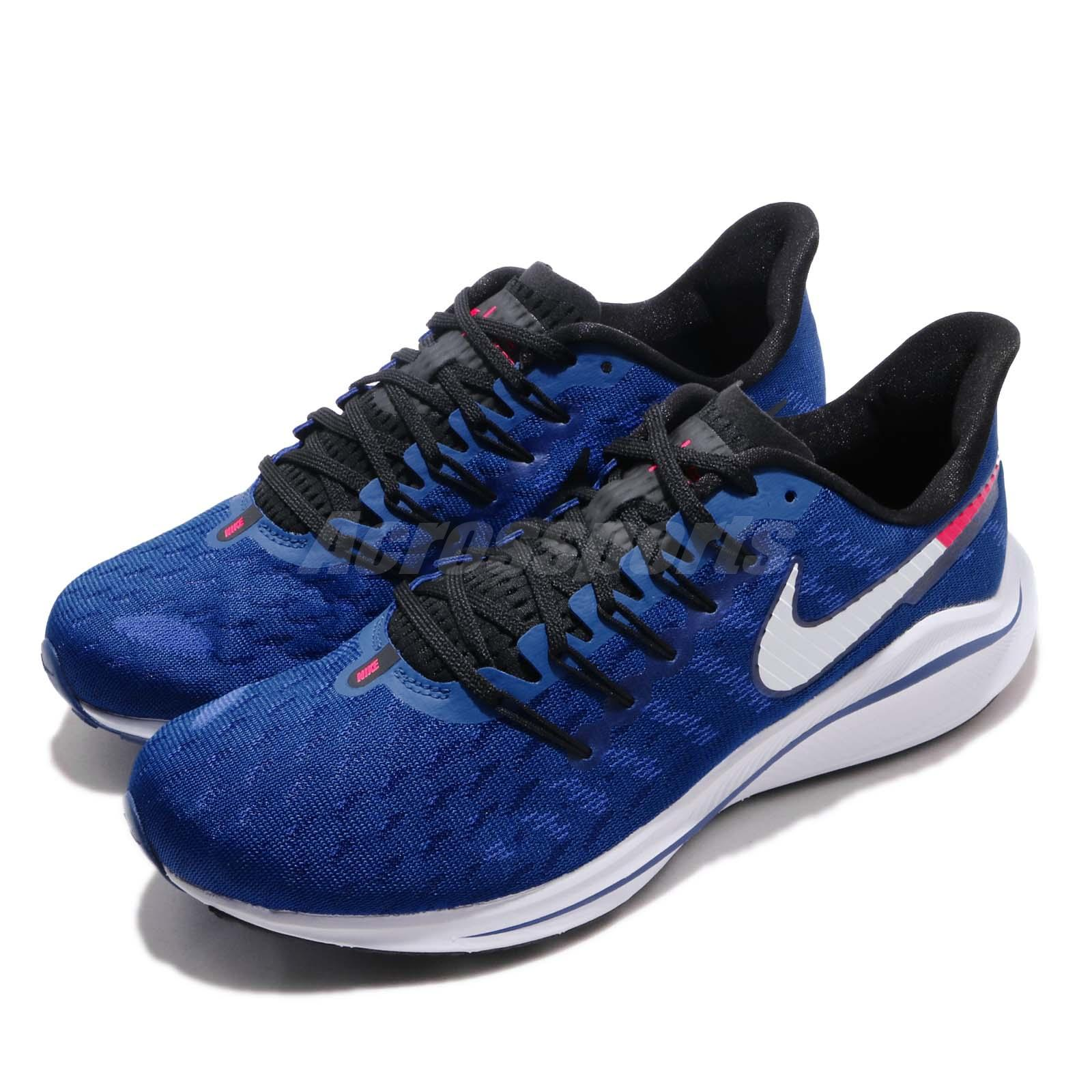 f30b2909 Details about Nike Air Zoom Vomero 14 Indigo Force Photo Blue Men Running  Shoes AH7857-400