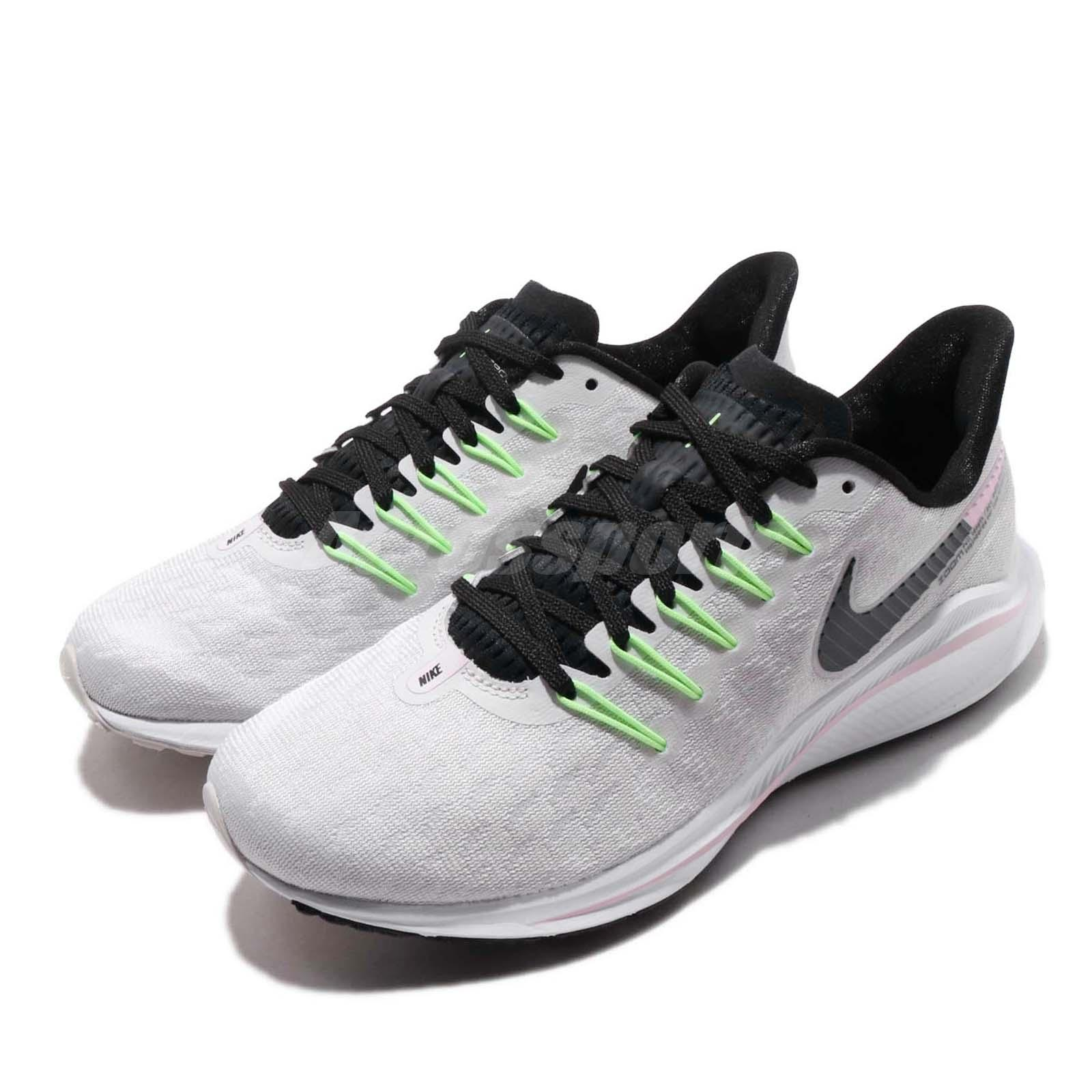 9fb1802ed5b Details about Nike Wmns Air Zoom Vomero 14 Grey Black Pink Women Running  Shoes AH7858-002