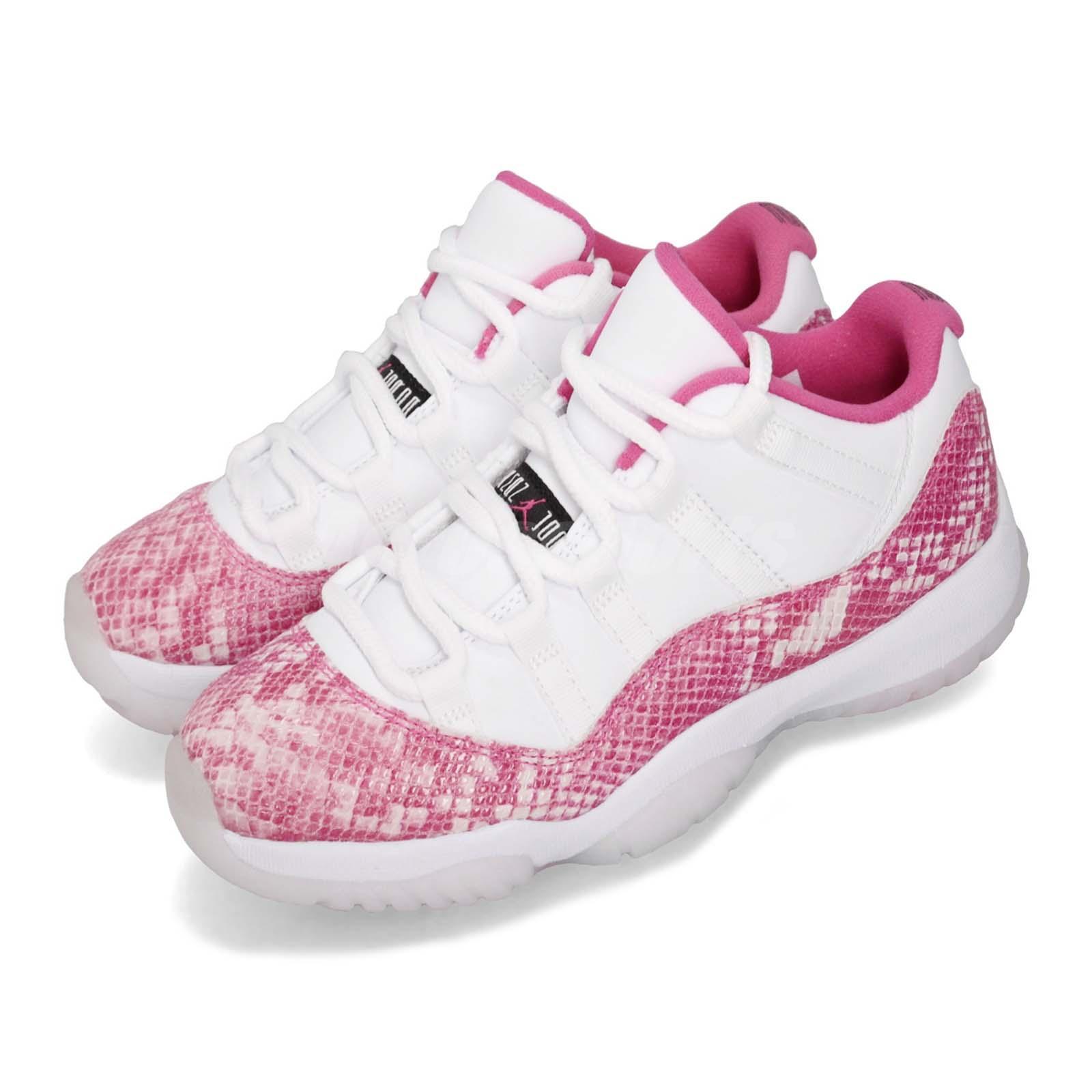 hot sale online e352c f4604 Details about Nike Wmns Air Jordan 11 Retro Low AJ11 XI Pink Snakeskin  Women Shoes AH7860-106