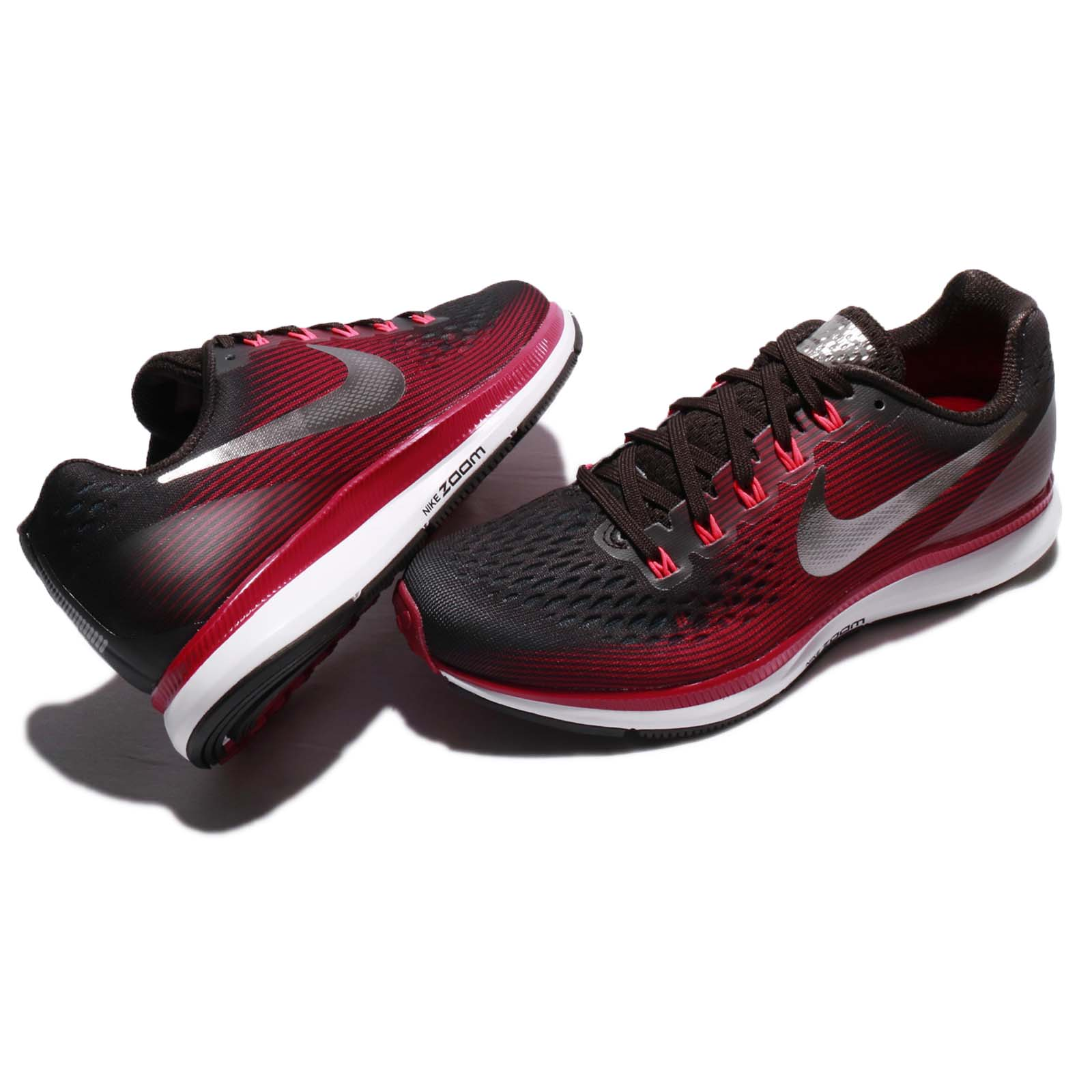 ab5548b56fbdf Wmns Nike Air Zoom Pegasus 34 GEM Shadow Brown Red Women Running ...