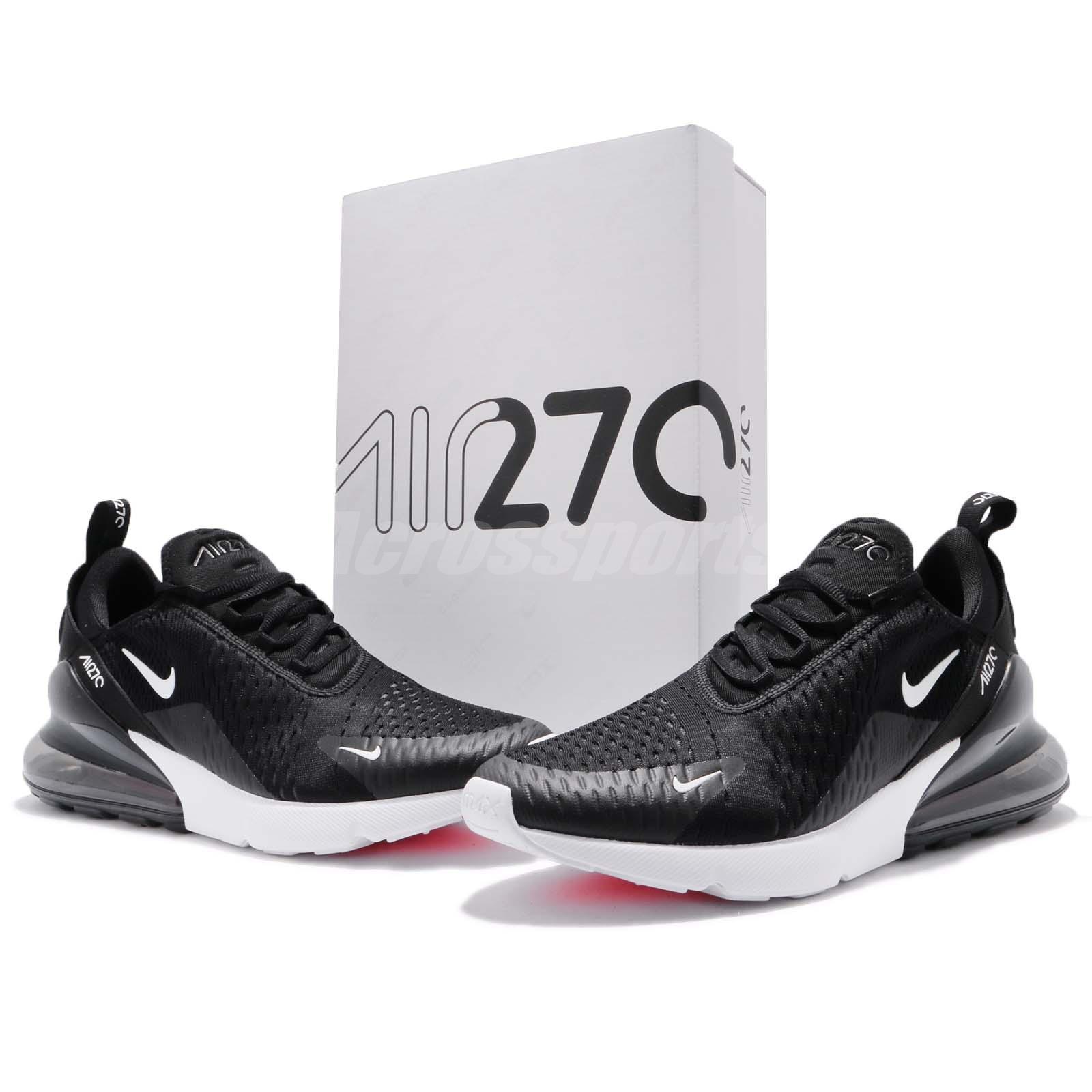 Nike Air Max 270 Black White Men