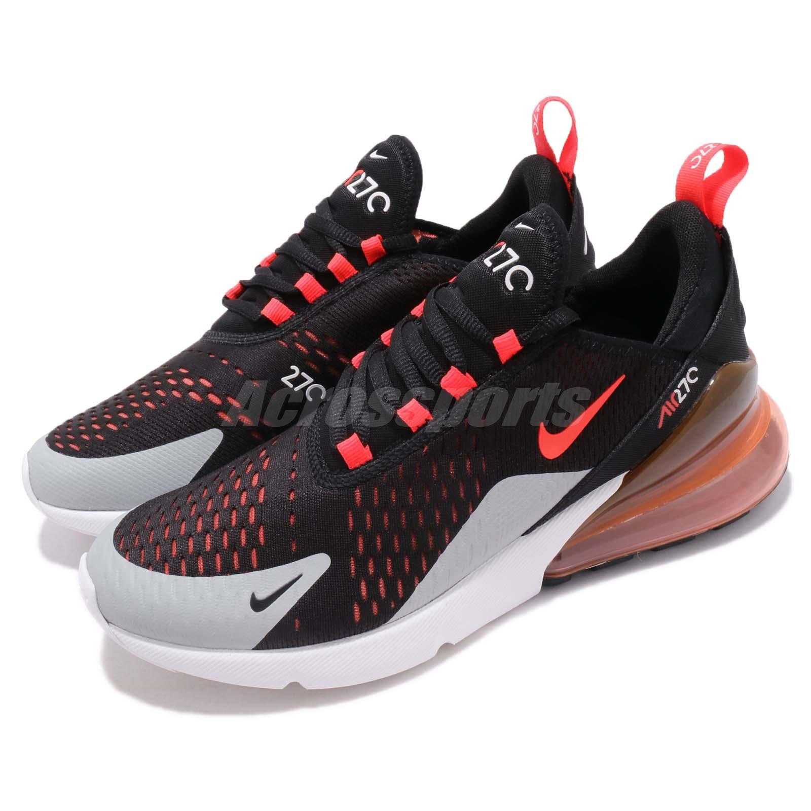 042a1c6d3705 Details about Nike Air Max 270 Bright Crimson Black Men Running Shoes  Sneakers AH8050-015