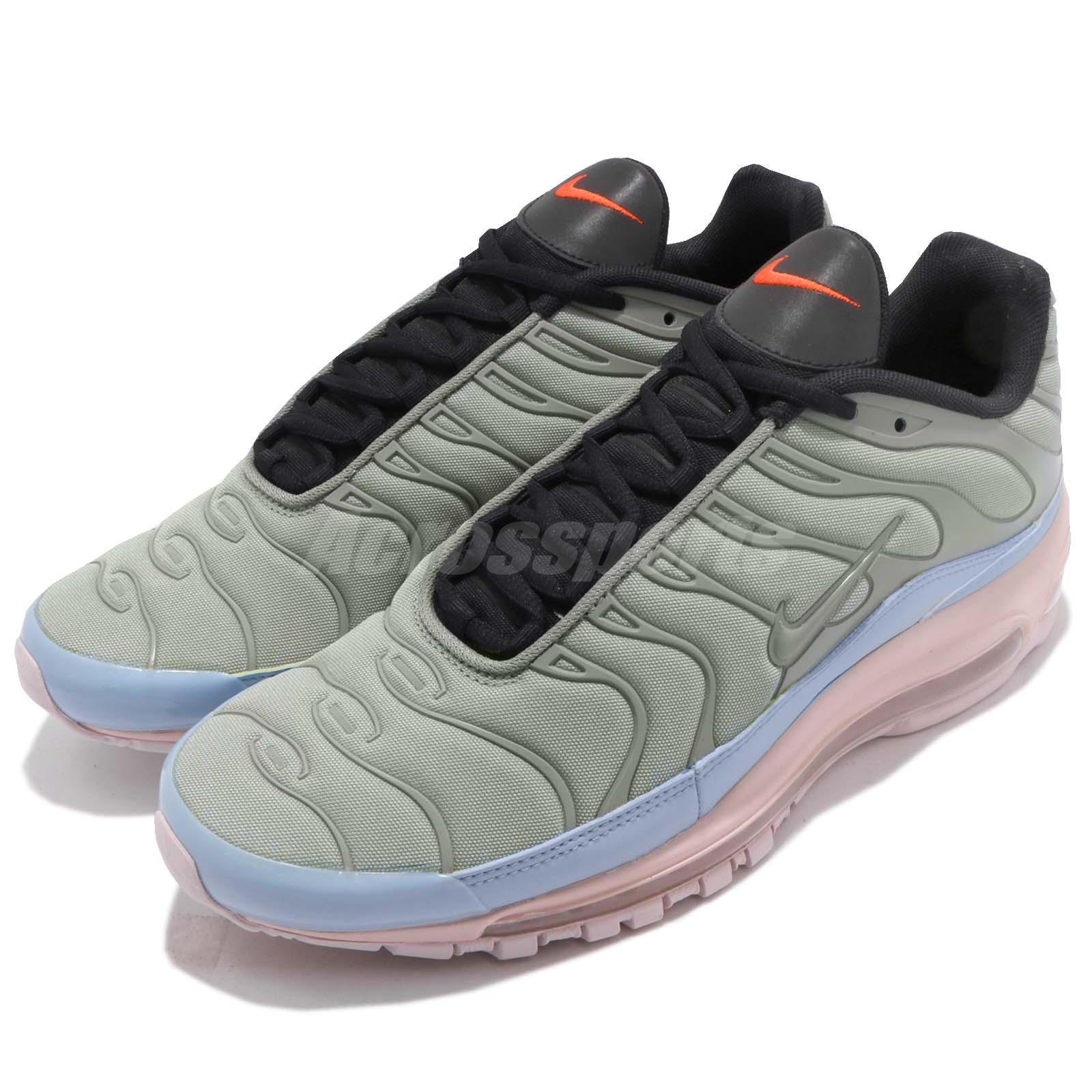 Nike Air Max 97 Plus Max Mix Layer Cake Mica Green Men Running Shoes AH8144300